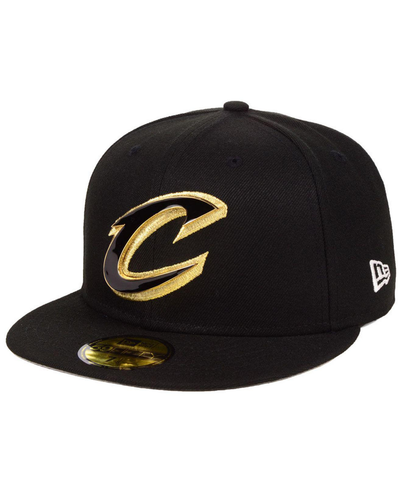 1c8cb2bfbd6 Lyst - Ktz Cleveland Cavaliers Metal Mash Up 59fifty-fitted Cap in ...