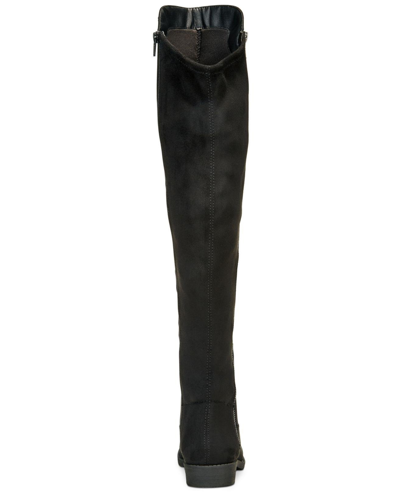 f7460d986fa Lyst - Style   Co. Hadleyy Over-the-knee Boots in Black