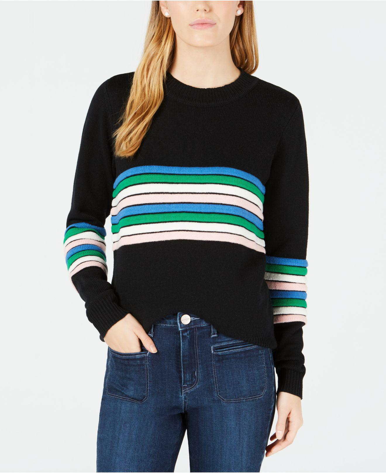 2e293ce9bb Lyst - Maison Jules Novelty-striped Sweater
