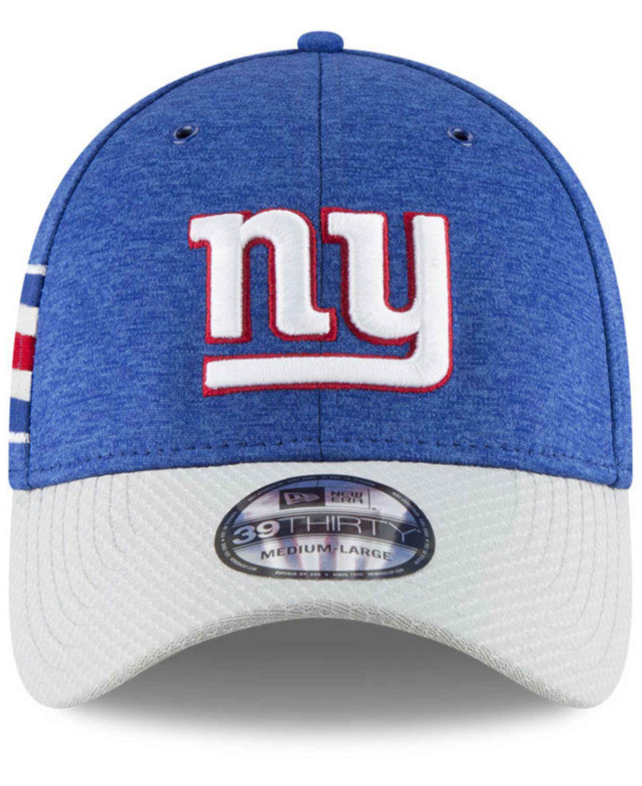 e1f2417d7 Lyst - KTZ New York Giants On Field Sideline Home 39thirty Cap in Blue for  Men