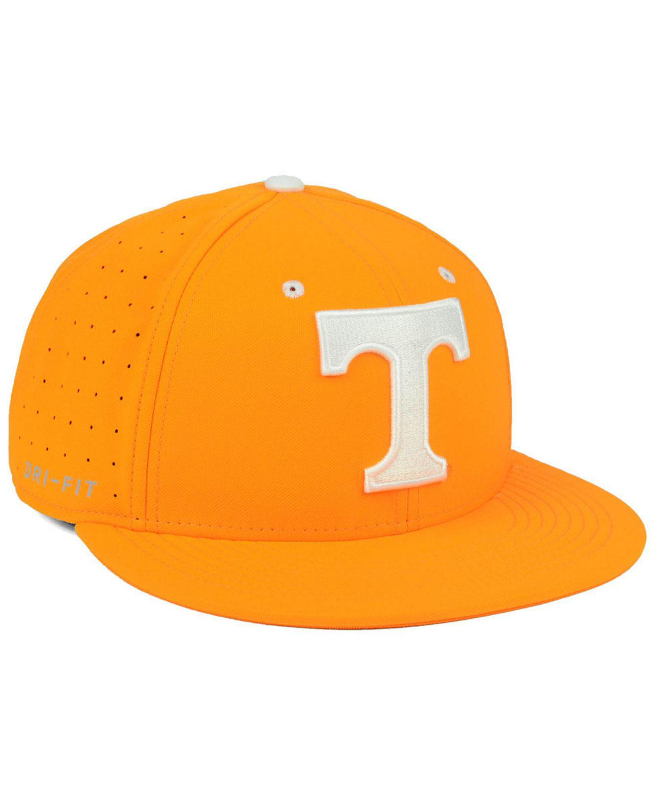 save off bbc72 817ea ... wholesale nike orange tennessee volunteers aerobill true fitted baseball  cap for men lyst. view fullscreen
