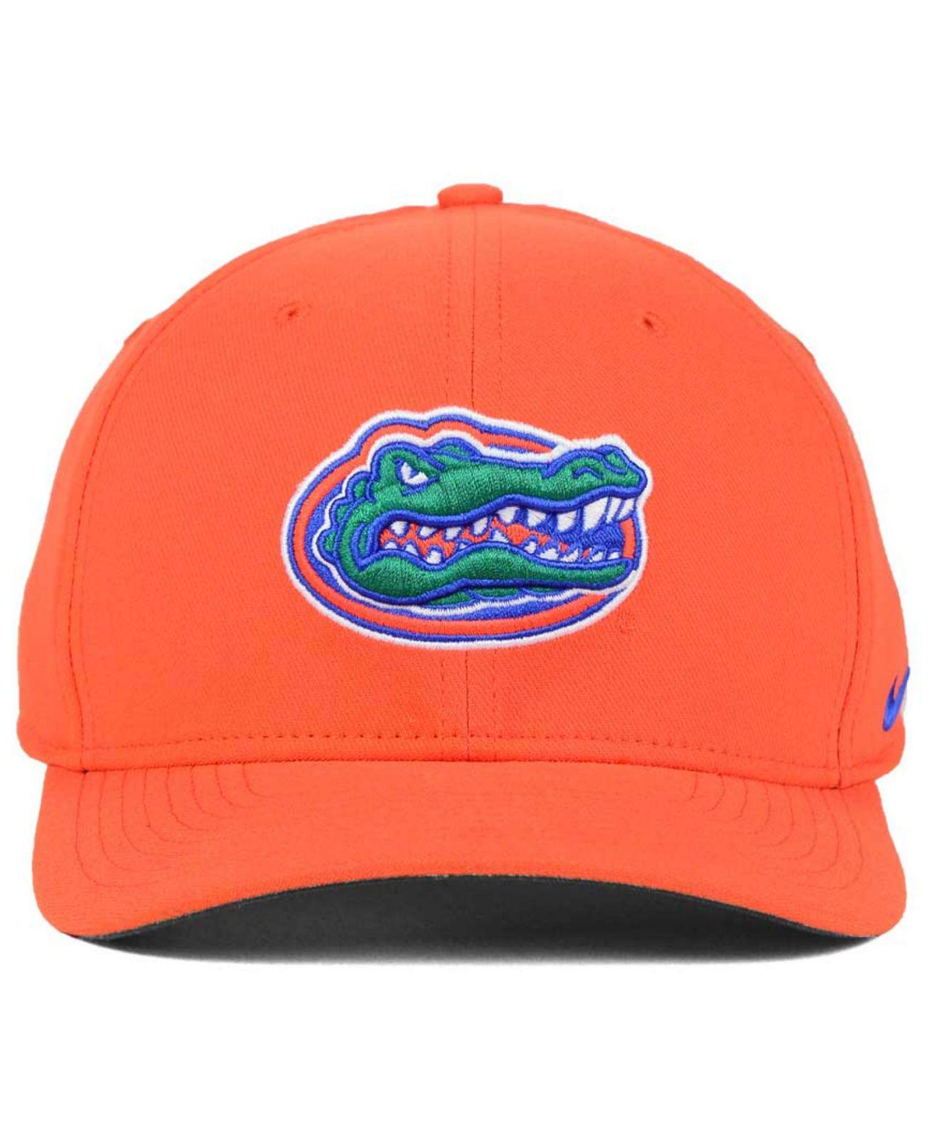 huge selection of 617c6 15ed5 Lyst - Nike Florida Gators Classic Swoosh Cap in Orange for Men