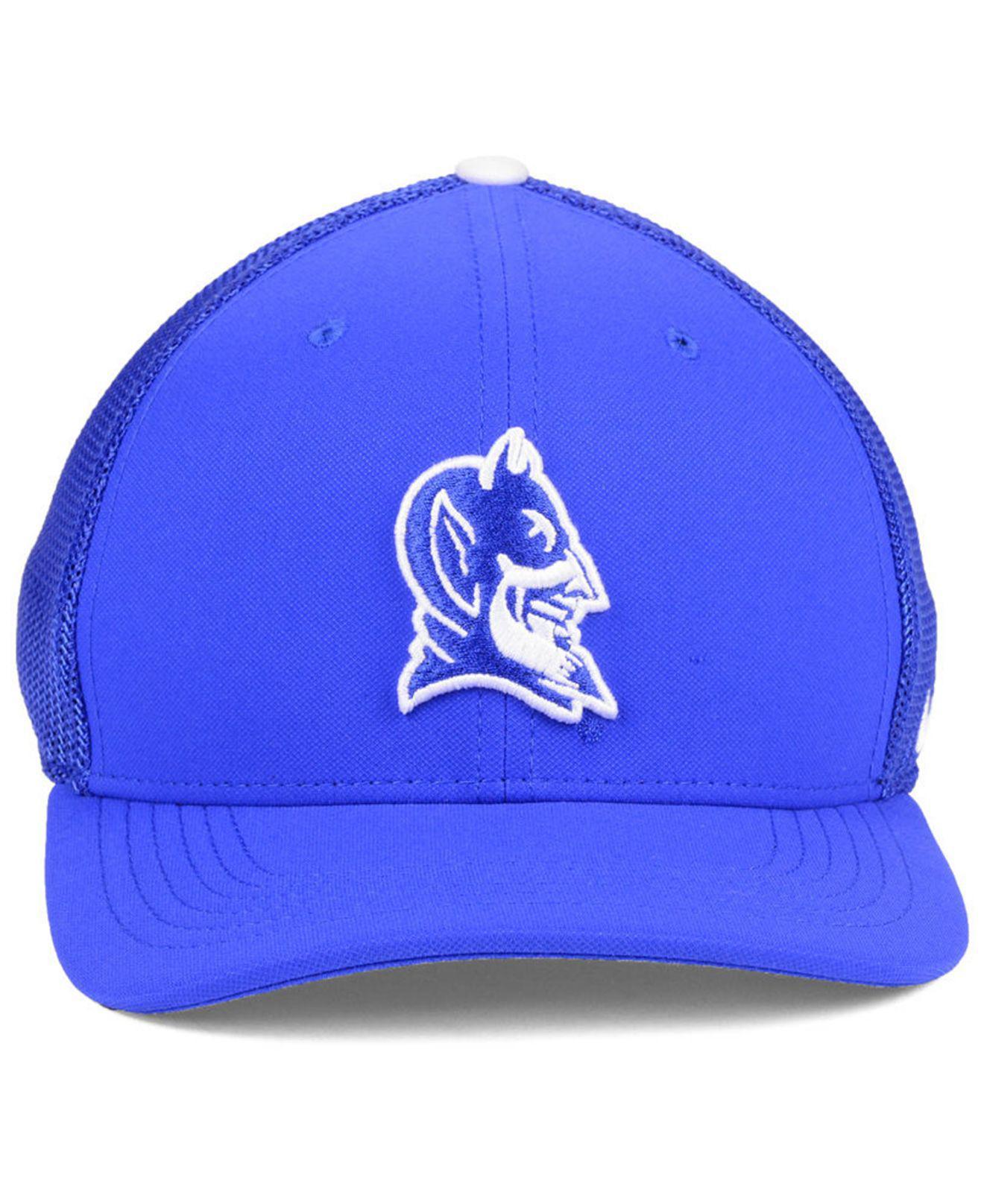 huge selection of 4e1a6 307b0 ... sweden lyst nike duke blue devils col aro swooshflex cap in blue for men  1d718 1b96d