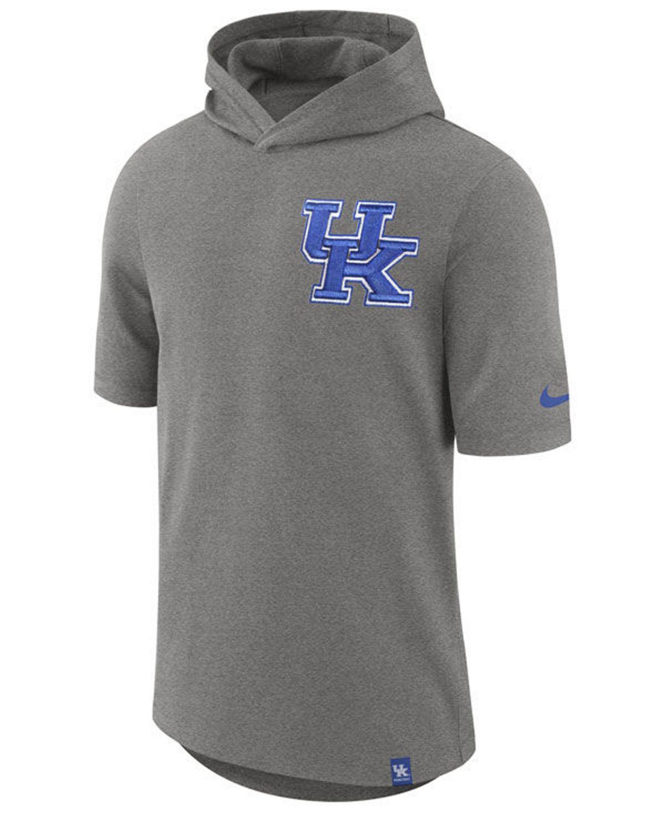 6329222455d3 Lyst - Nike Kentucky Wildcats Short Sleeve Shooter T-shirt in Gray ...
