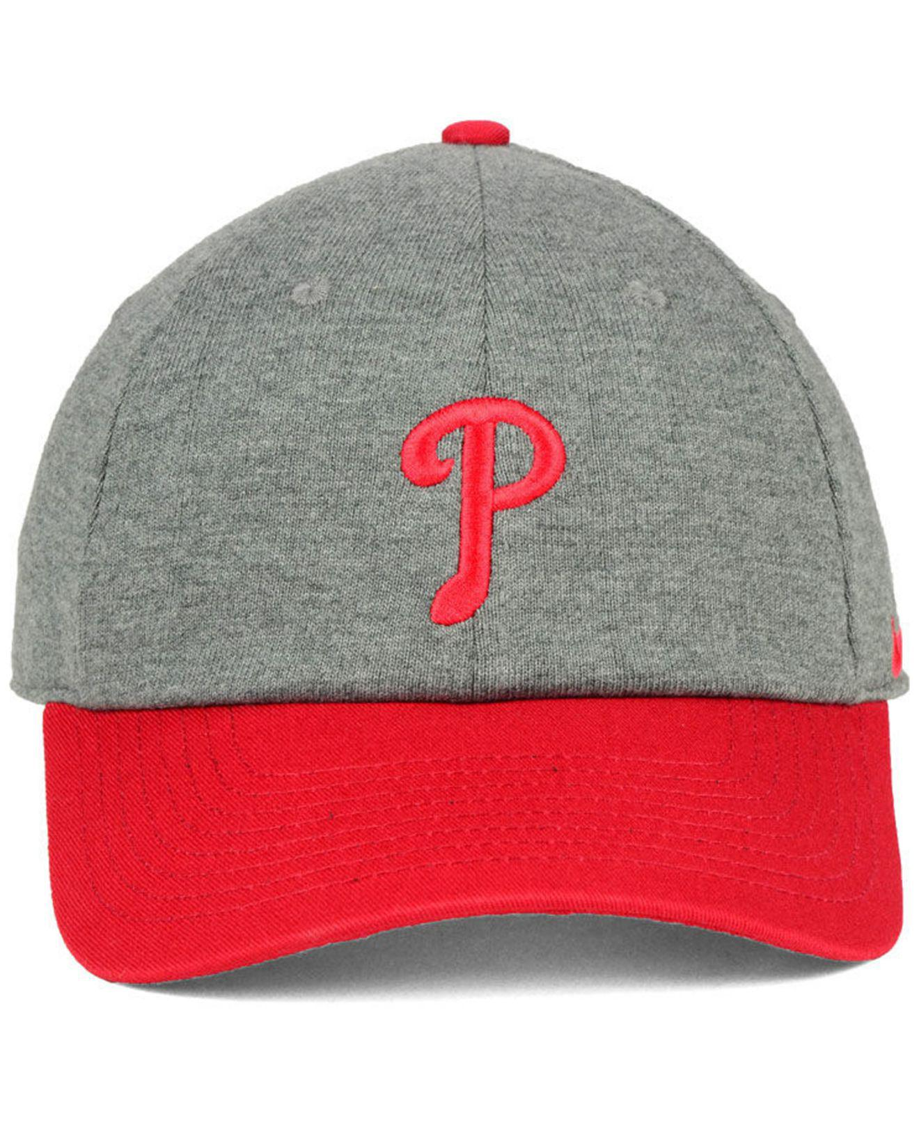ac224ba94b727 Lyst - Nike Philadelphia Phillies 2 Tone Heather Cap for Men