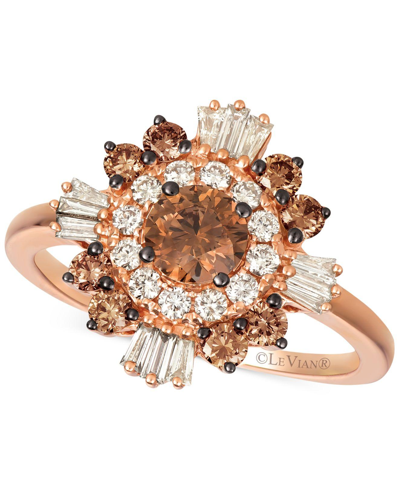 Buy Le Vian Nude Diamond & Chocolate Diamond Statement