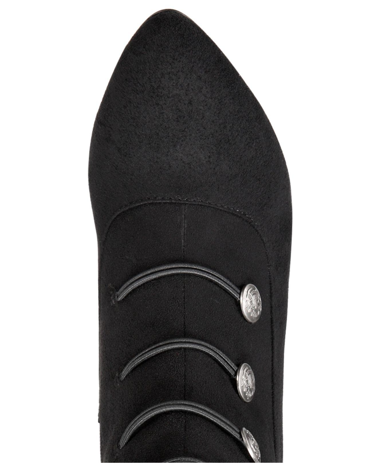 Rialto Chung Zip Boots in Black - Lyst