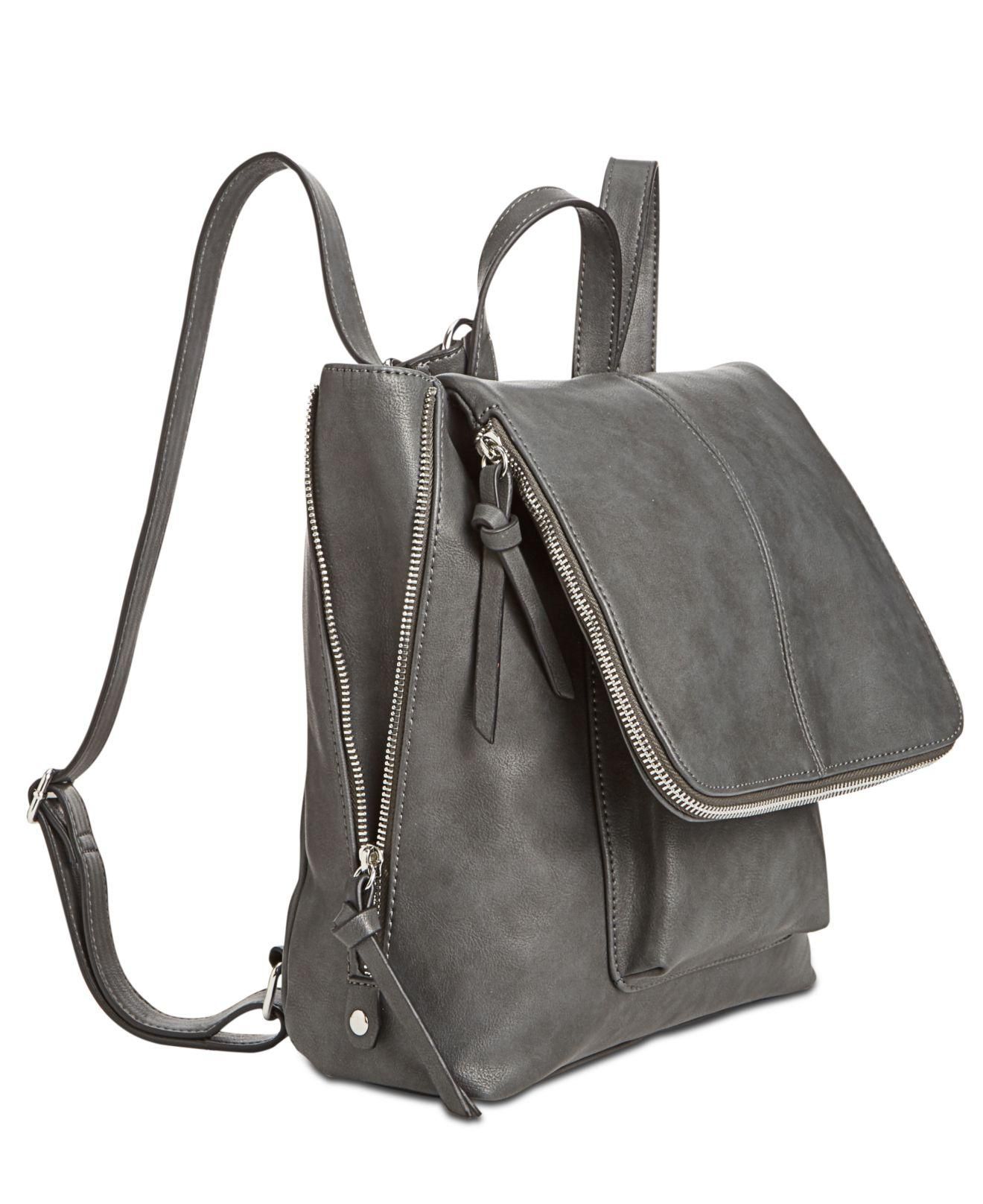 INC International Concepts - Gray Elliah Medium Wrapped Backpack - Lyst.  View fullscreen b2fadaa46673e