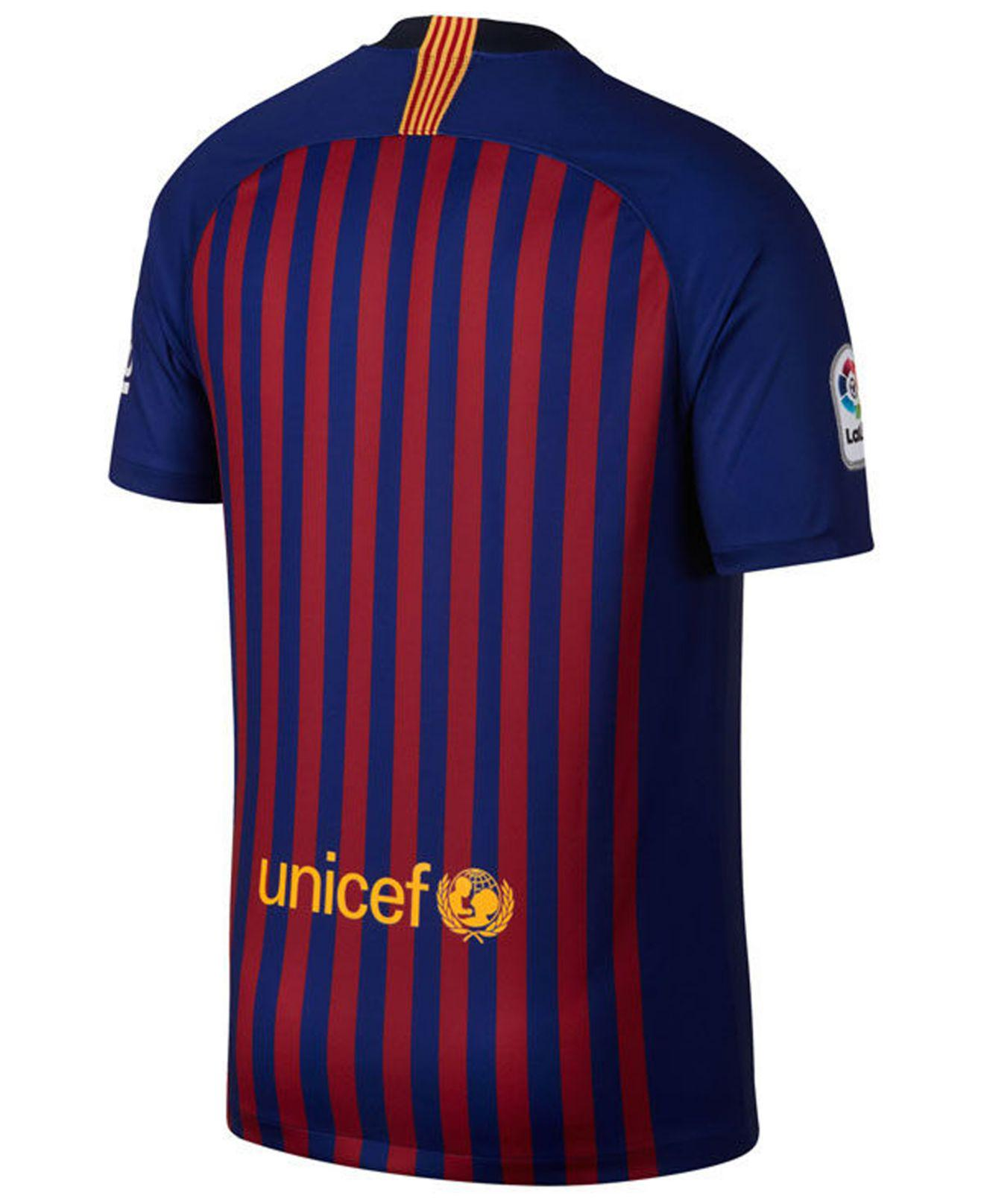49db60b29cbbd Lyst - Nike 2018/19 Fc Barcelona Stadium Home Men's Soccer Jersey in Blue  for Men - Save 17%