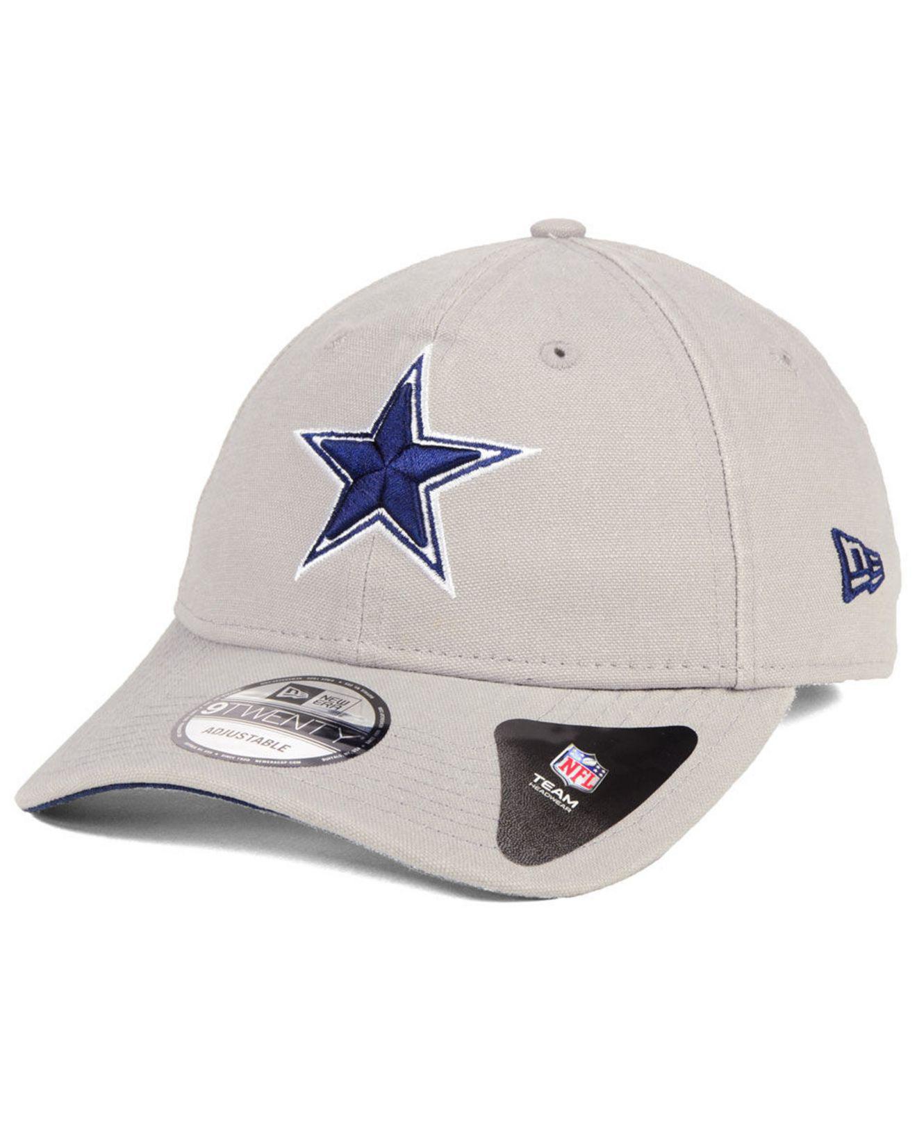 1ad178a05ee5d ... france ktz gray dallas cowboys core shore 9twenty cap for men lyst.  view fullscreen 4791f