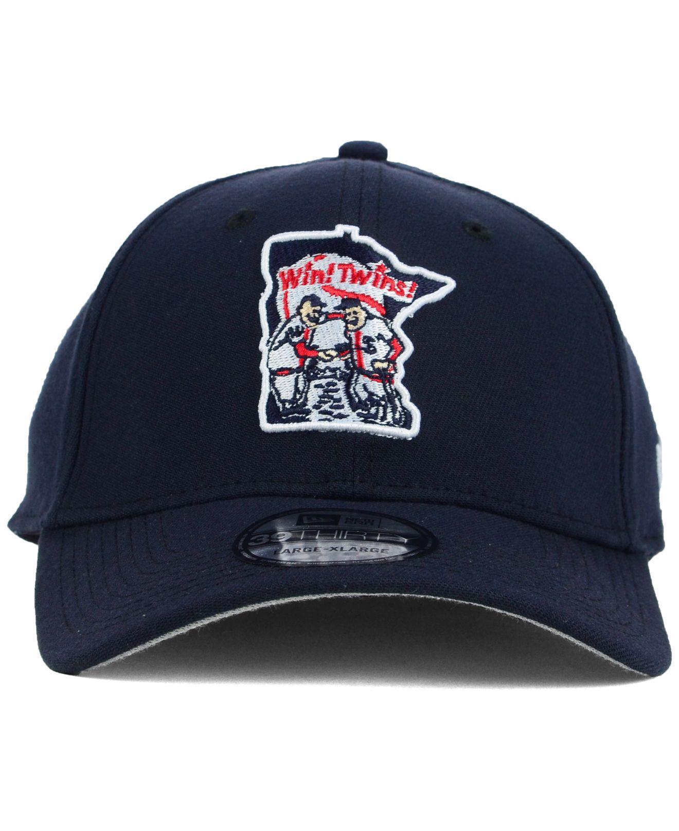 wholesale dealer b11b4 edb73 KTZ Minnesota Twins Core Classic 39Thirty Cap in Blue for Men - Lyst