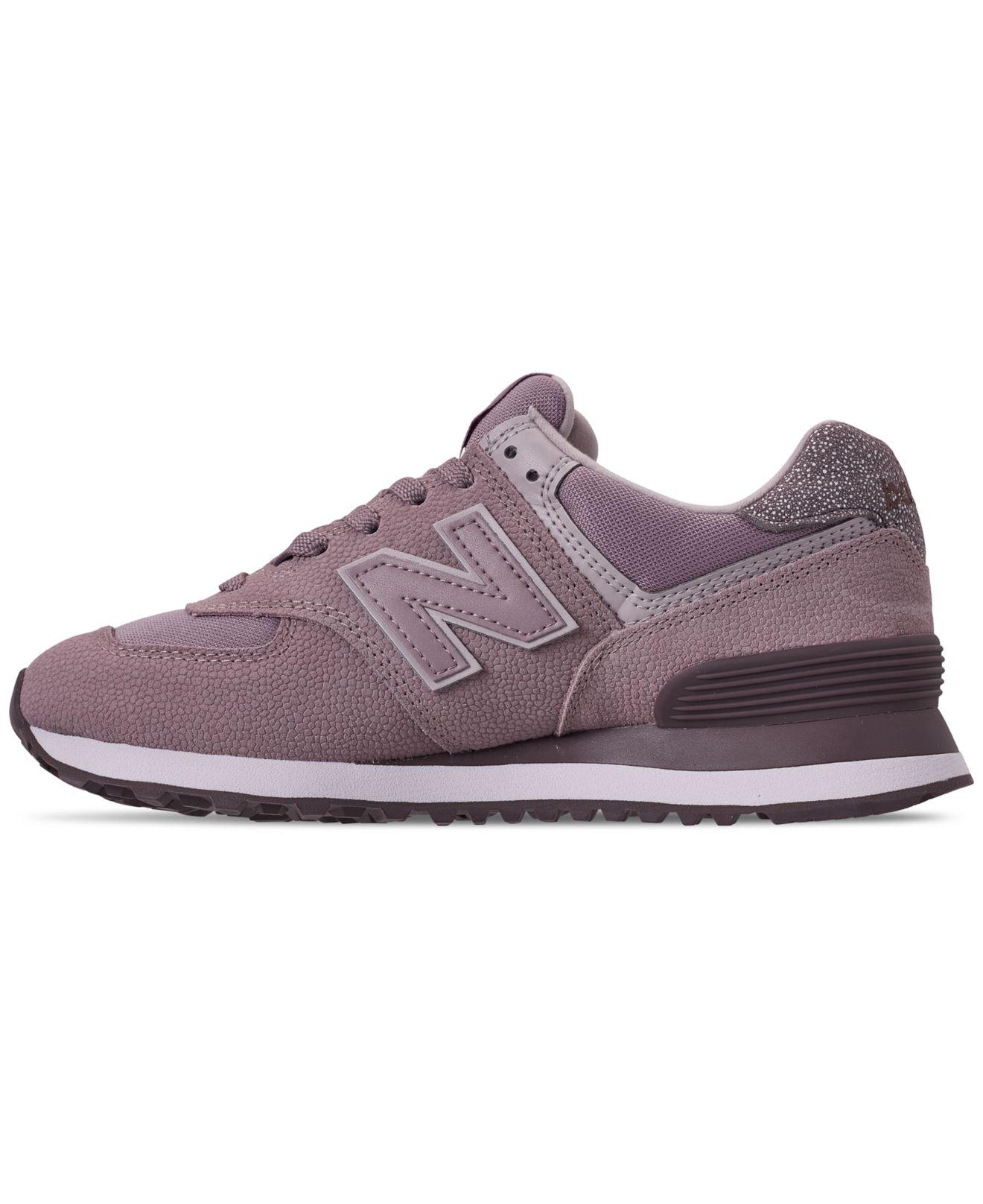 New Balance Suede 574 Pebbled Casual