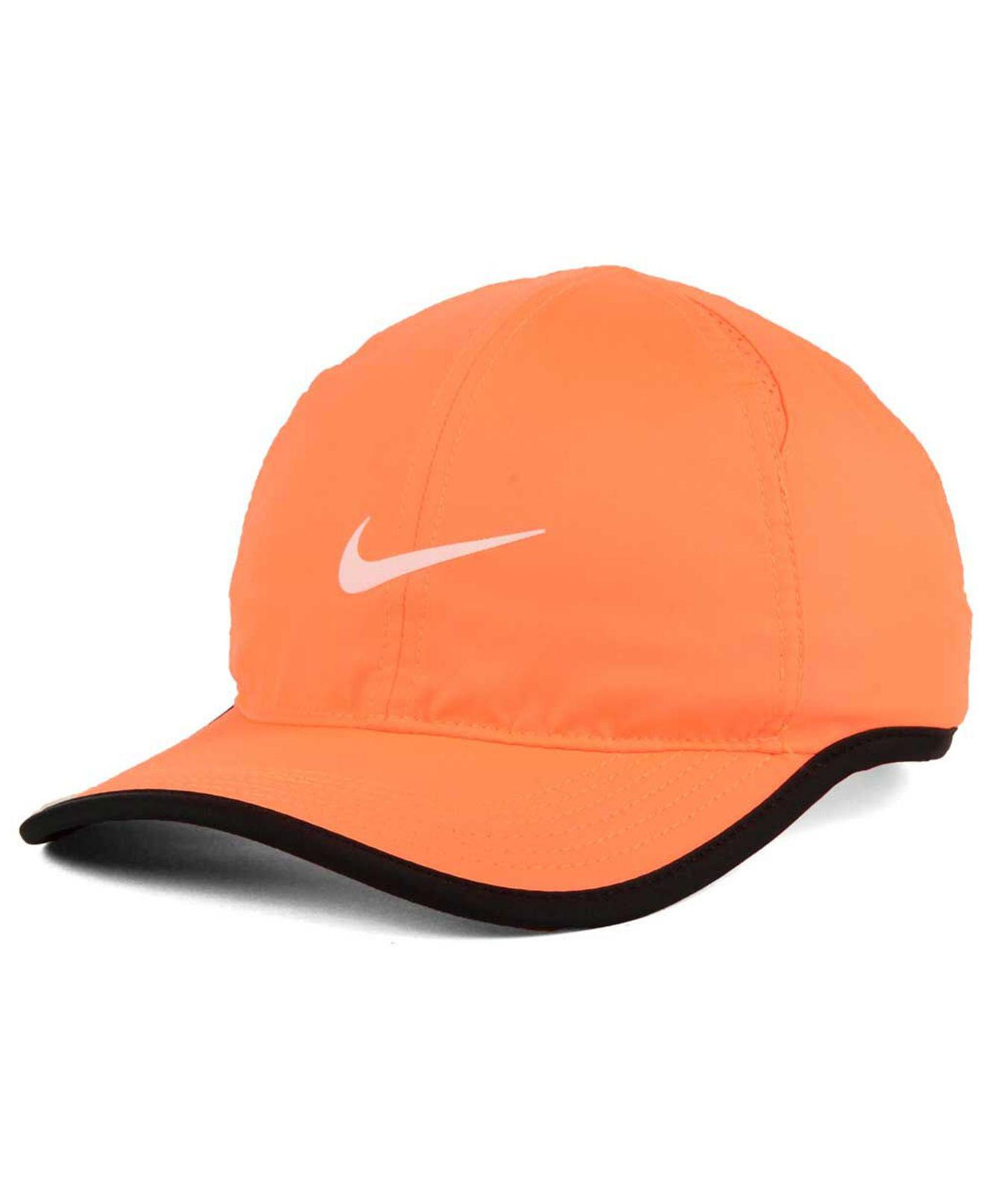 7f7e4b713e2ed Nike Featherlight Cap in Orange - Lyst