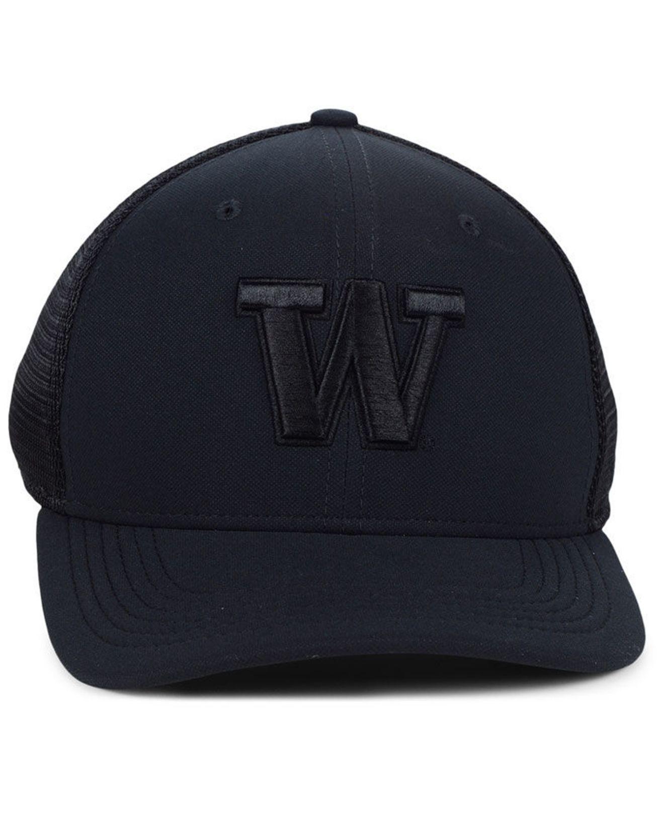 half off 9cc2c ea05f ... cheap lyst nike washington huskies aerobill black swoosh cap in black  for men fd74a 2b978