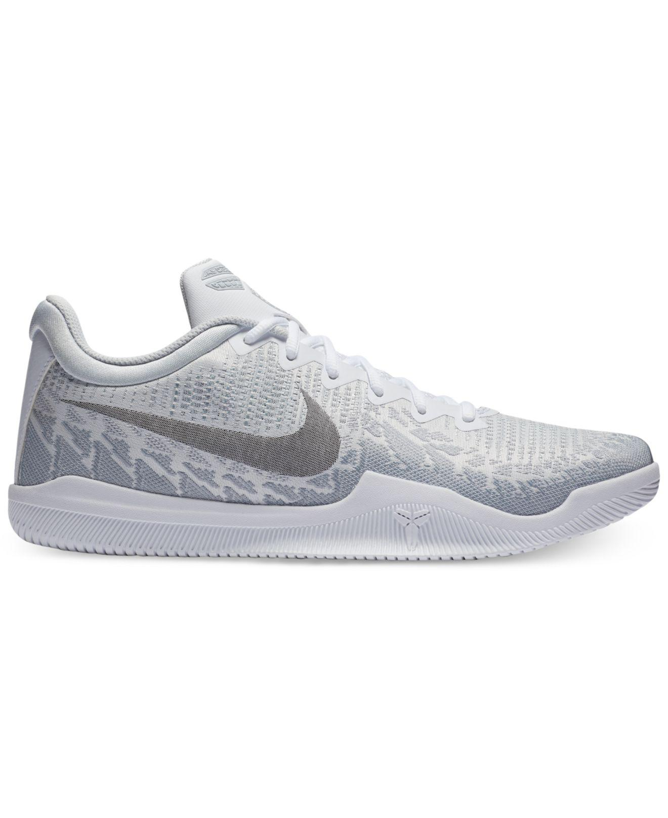 size 40 307ba 411fe Nike Kobe Mamba Rage Basketball Sneakers From Finish Line in Gray ...