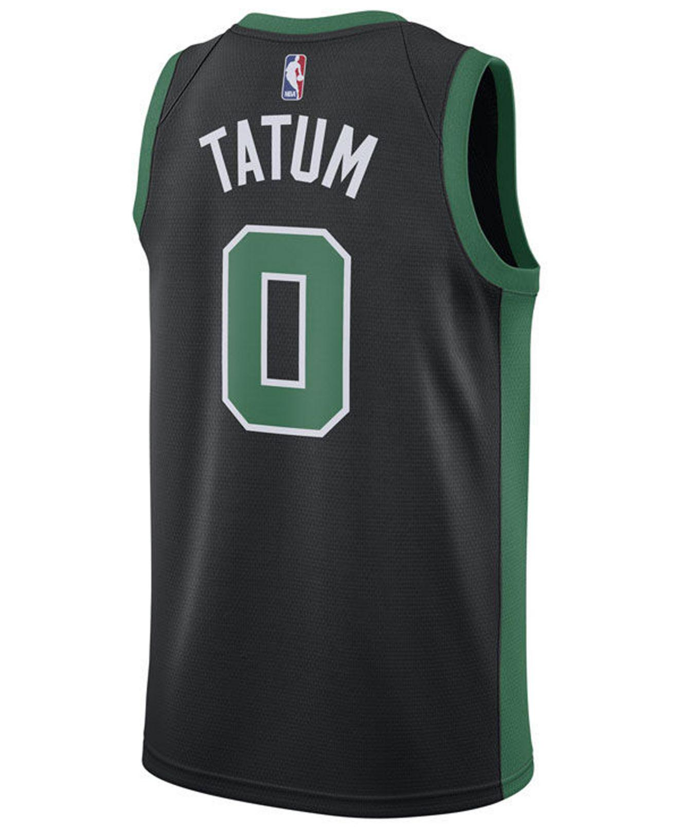 cheap for discount 21800 a2df2 Black Jayson Tatum Boston Celtics Statement Swingman Jersey