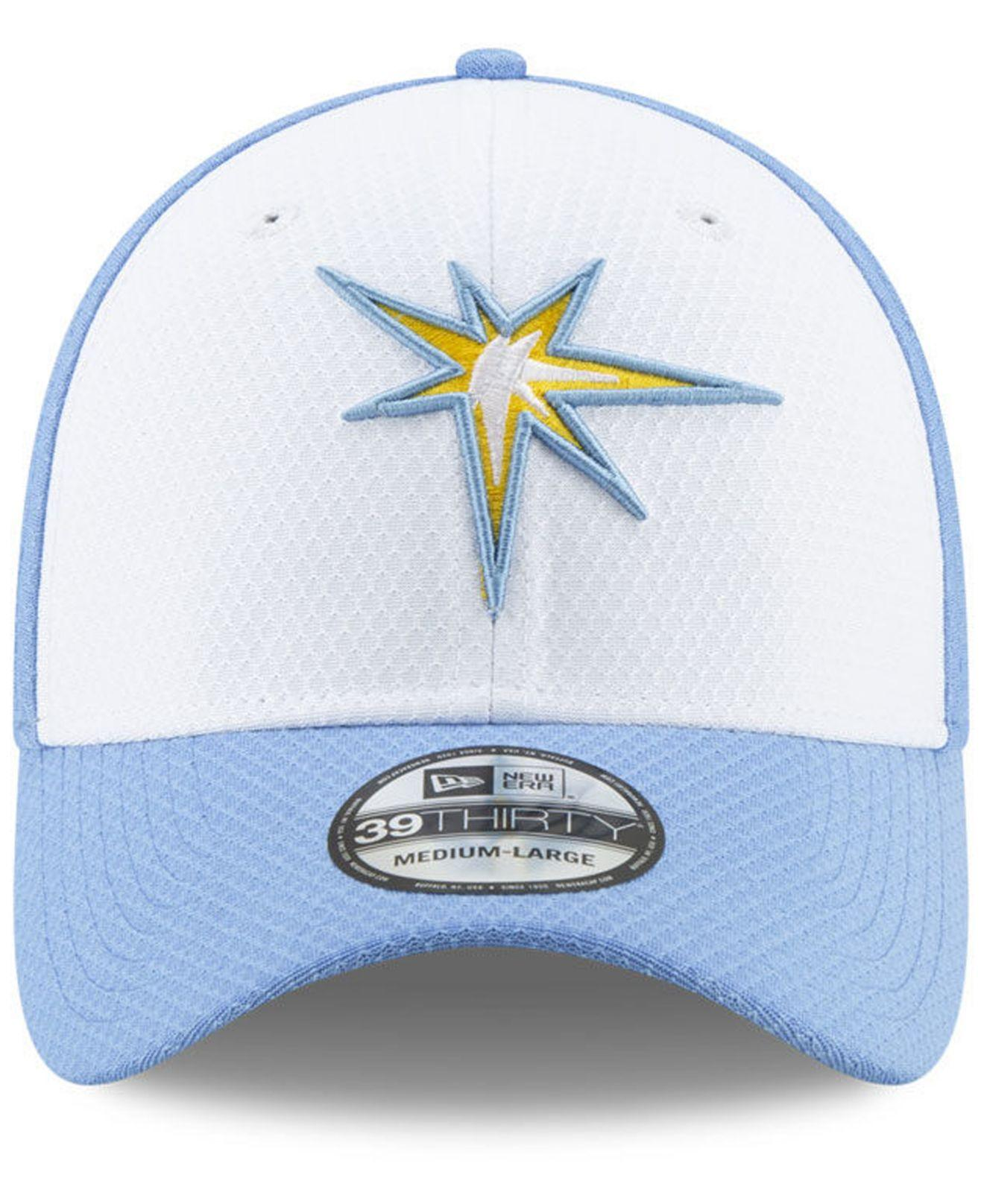 new products 2101f d7baf Lyst - KTZ Tampa Bay Rays Batting Practice 39thirty Cap in Blue for Men