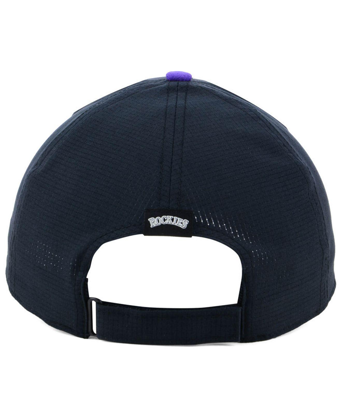 5f3d88e81a1 ... coupon code for under armour black colorado rockies driver cap for men  lyst. view fullscreen