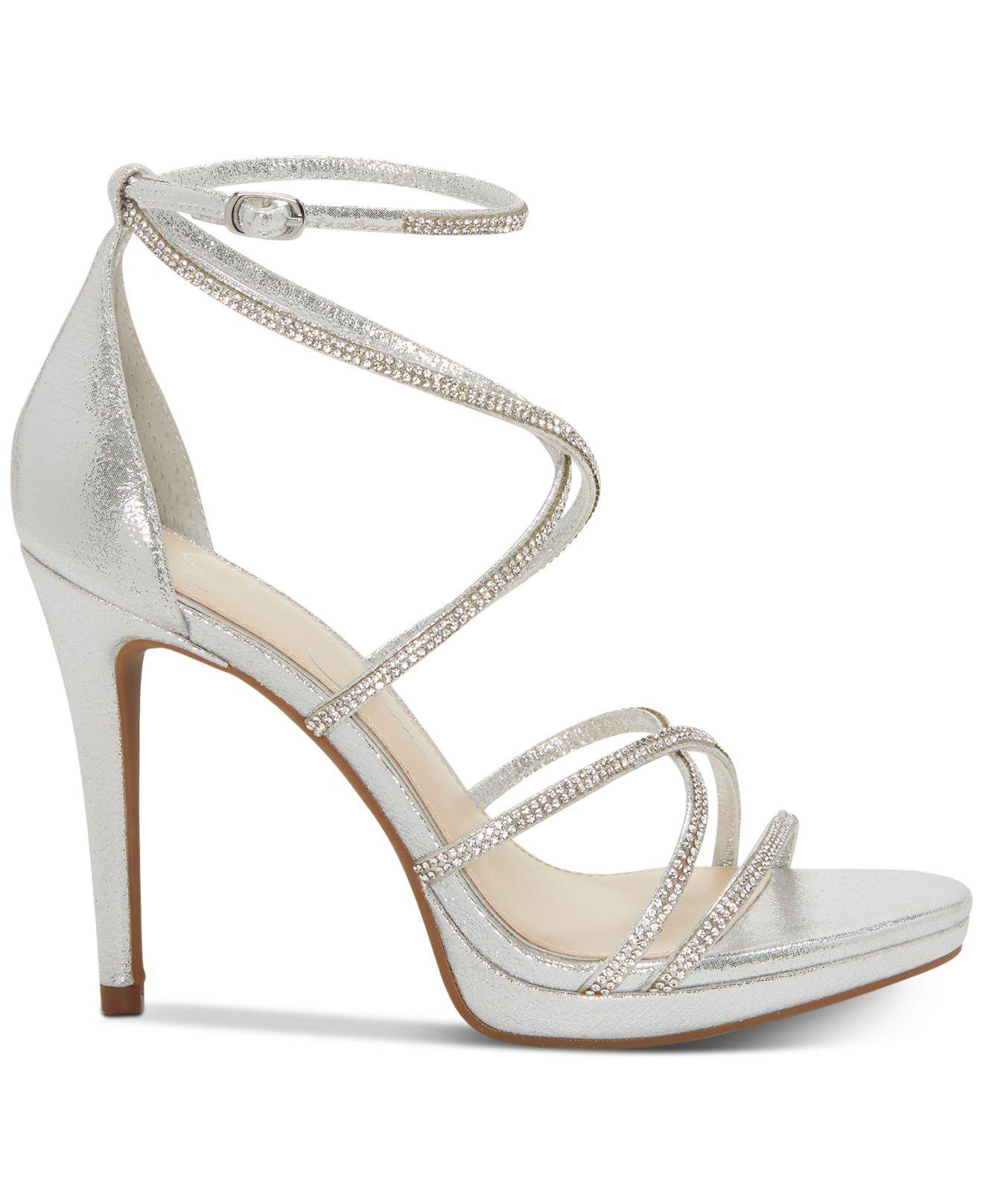 c8d78b24f99 Lyst - Jessica Simpson Jaeya Strappy Dress Sandals