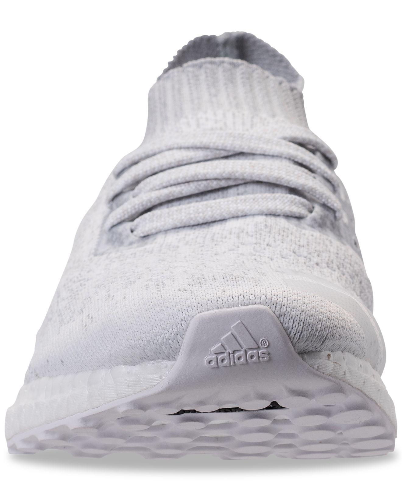 pretty nice 81114 9613d Adidas Gray Ultra Boost Uncaged Running Sneakers From Finish Line for men