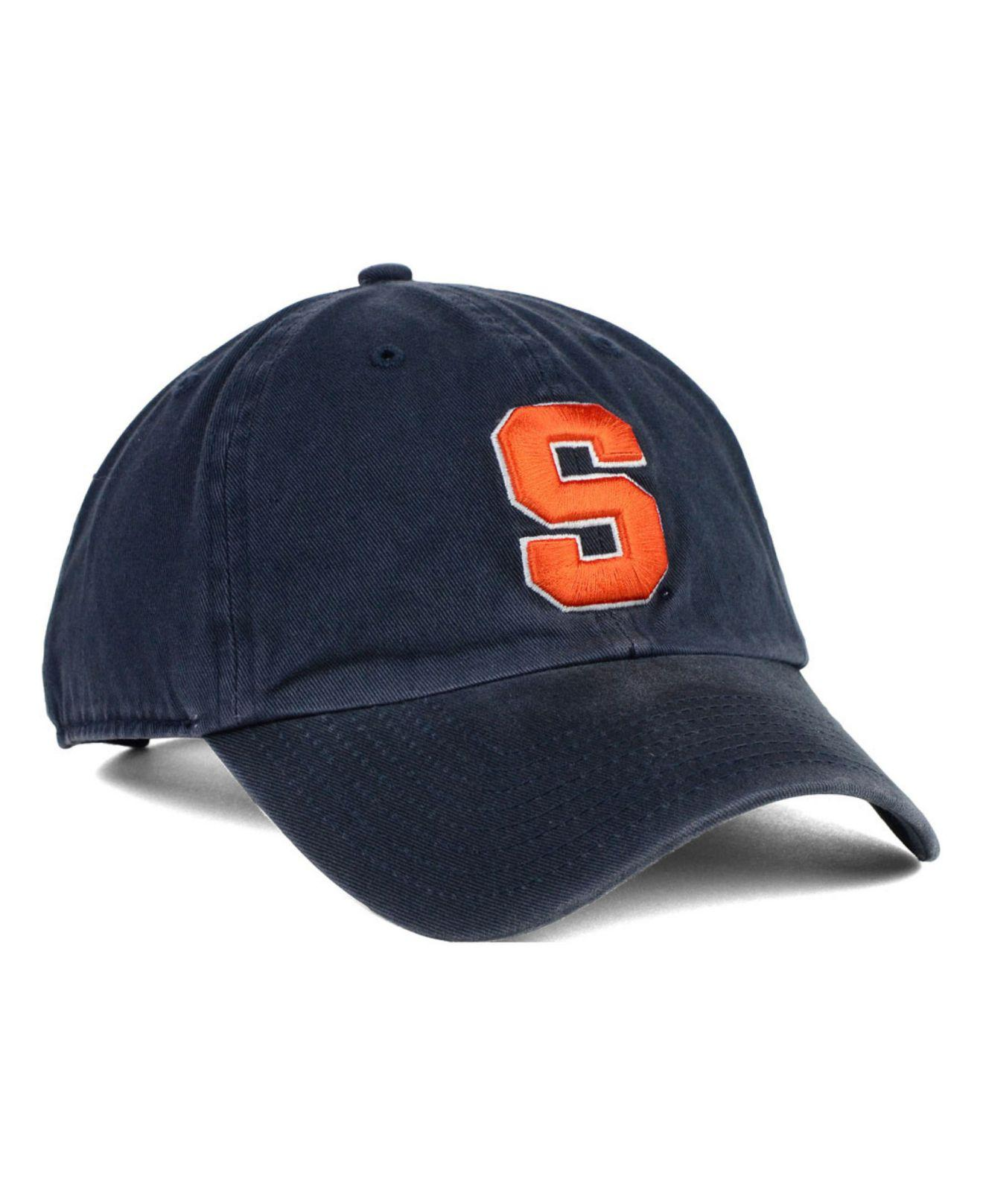 sports shoes cb1b4 c199f 47 Brand - Blue Syracuse Orange Clean Up Cap for Men - Lyst. View fullscreen