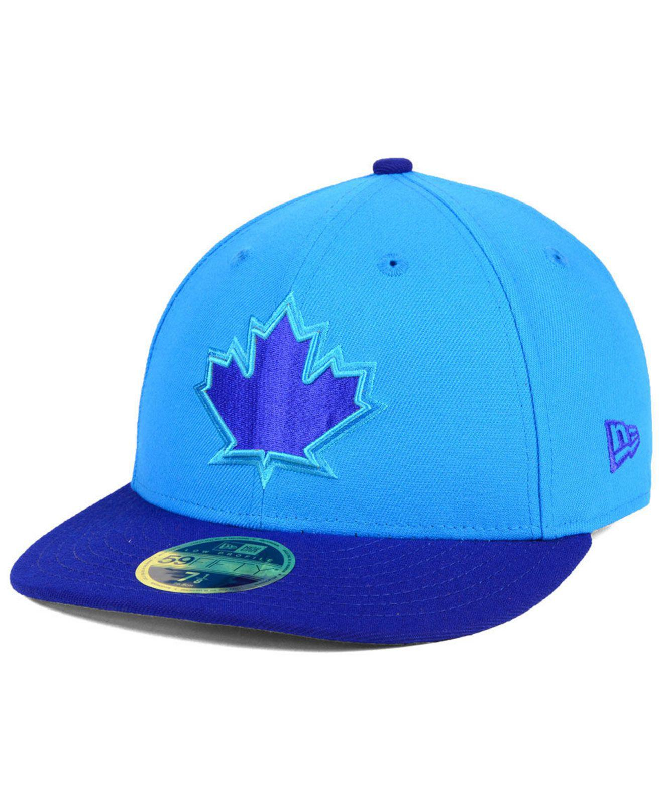 0cb7957b131 Lyst - KTZ Toronto Blue Jays Players Weekend Low Profile 59fifty ...