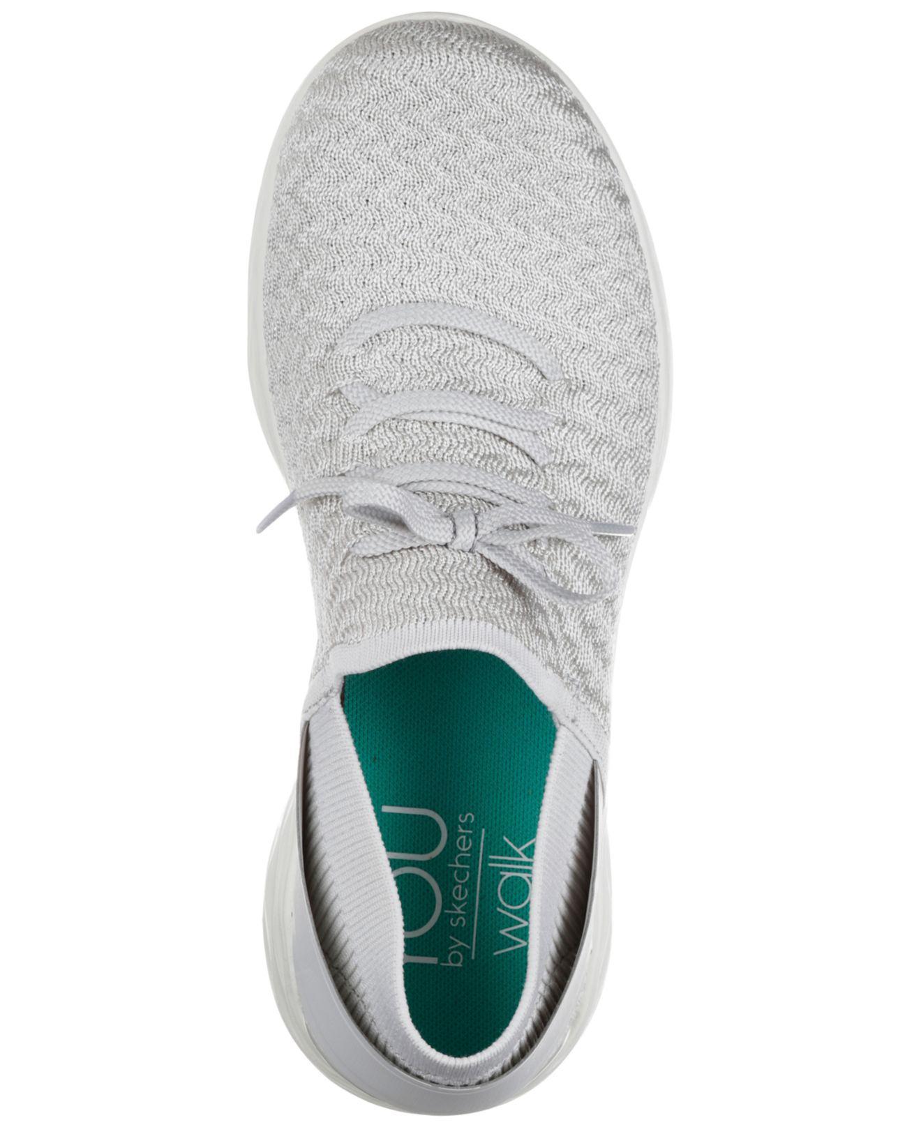 Skechers Beginning Sneaker in Silver
