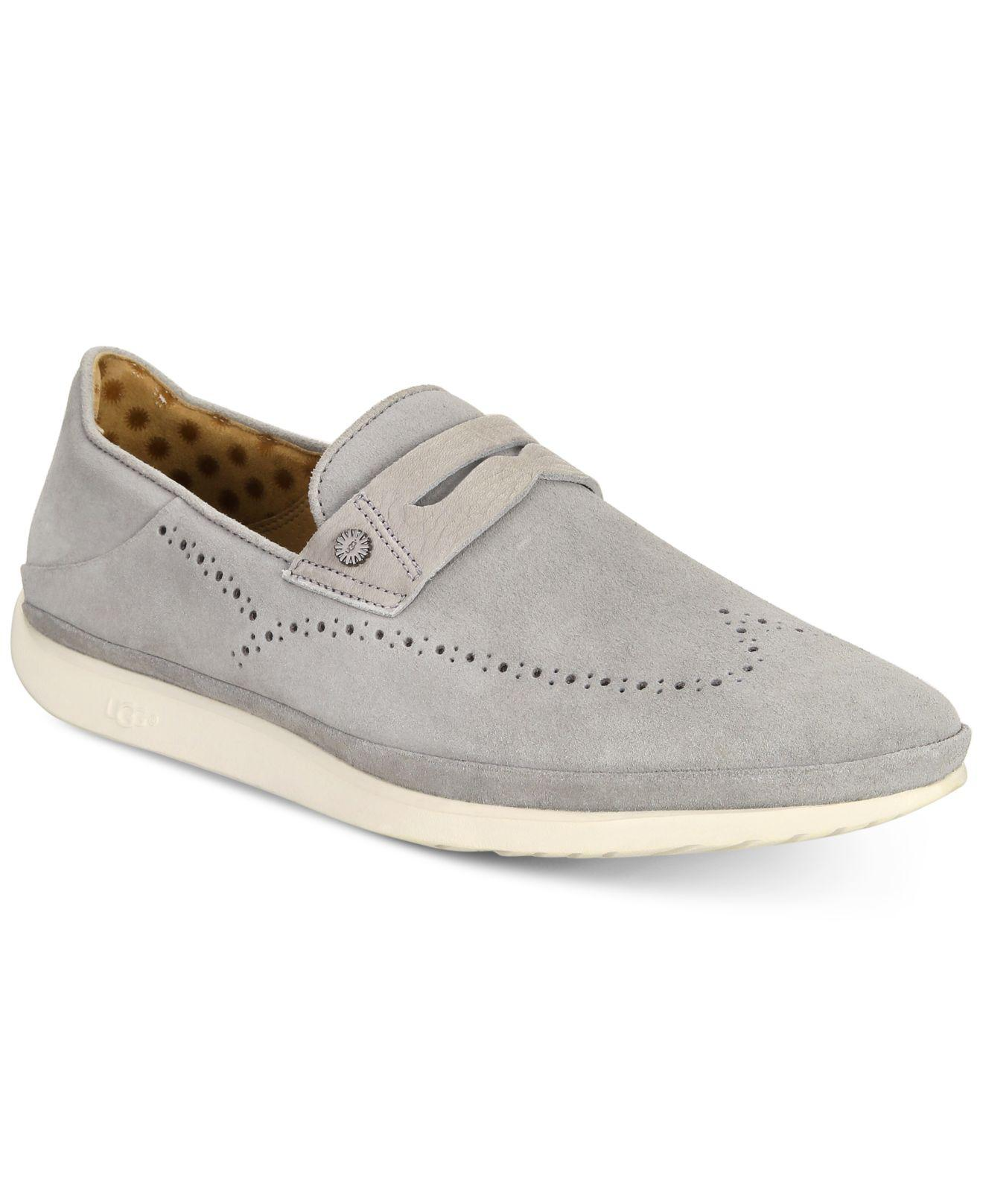 343110a5ca5 Lyst - UGG Cali Penny Slip-on Loafers in Gray for Men