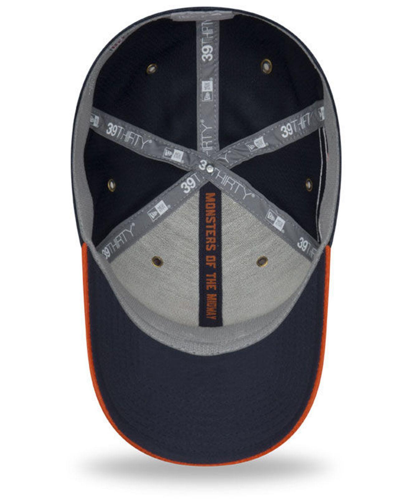 best cheap dddec f8081 KTZ - Blue Chicago Bears On Field Sideline Home 39thirty Cap for Men - Lyst.  View fullscreen