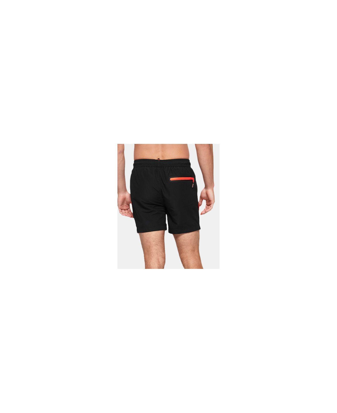 For Men Lyst Black Swim Beach Superdry Volley Shorts In w0OPn8k