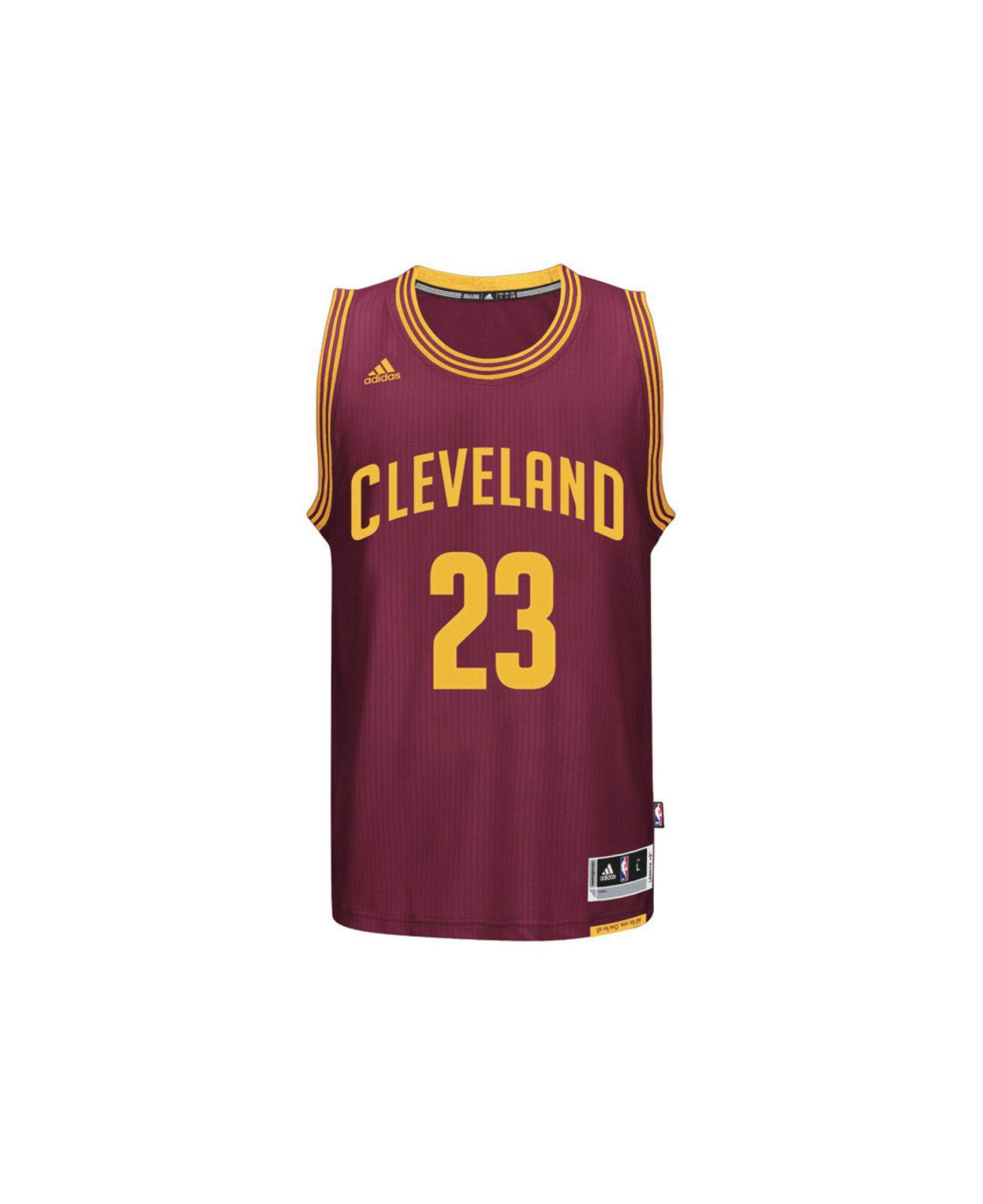 new concept 2863e 26d39 Adidas Originals Purple Men's Lebron James Cleveland Cavaliers Swingman  Jersey for men