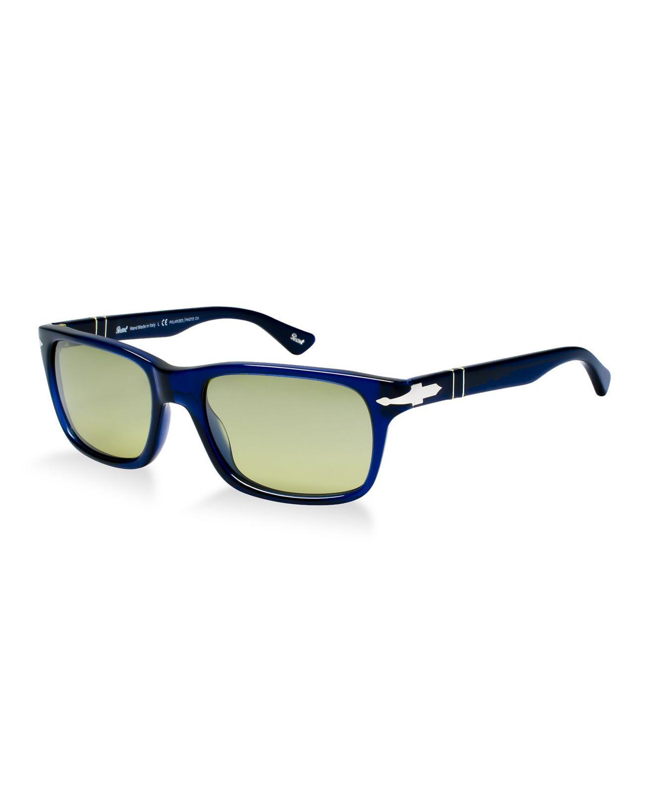 550a3adeb403 Persol. Men s Green Polarized Sunglasses ...