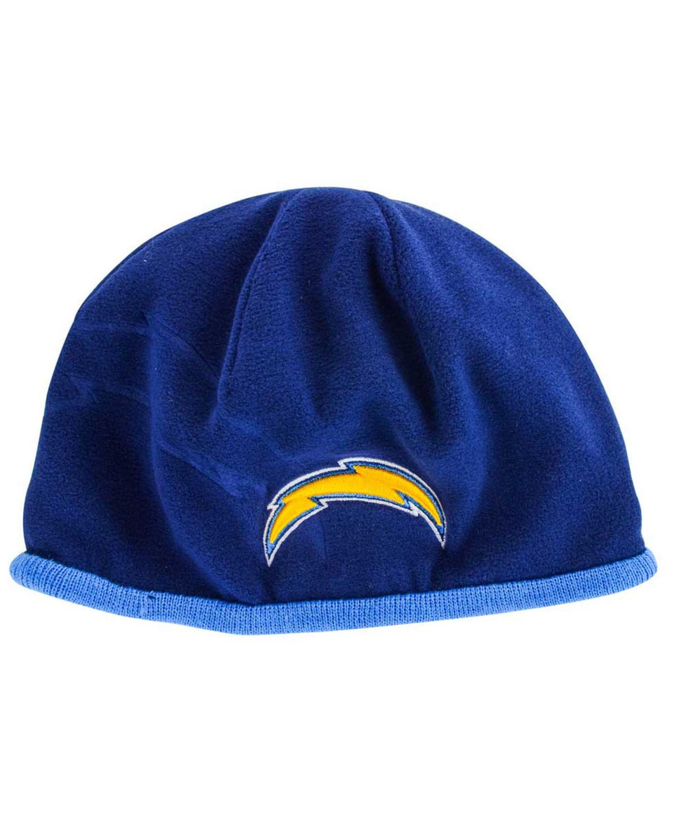 dbef1c30a57 Lyst - Ktz San Diego Chargers Tech Knit Hat in Blue for Men