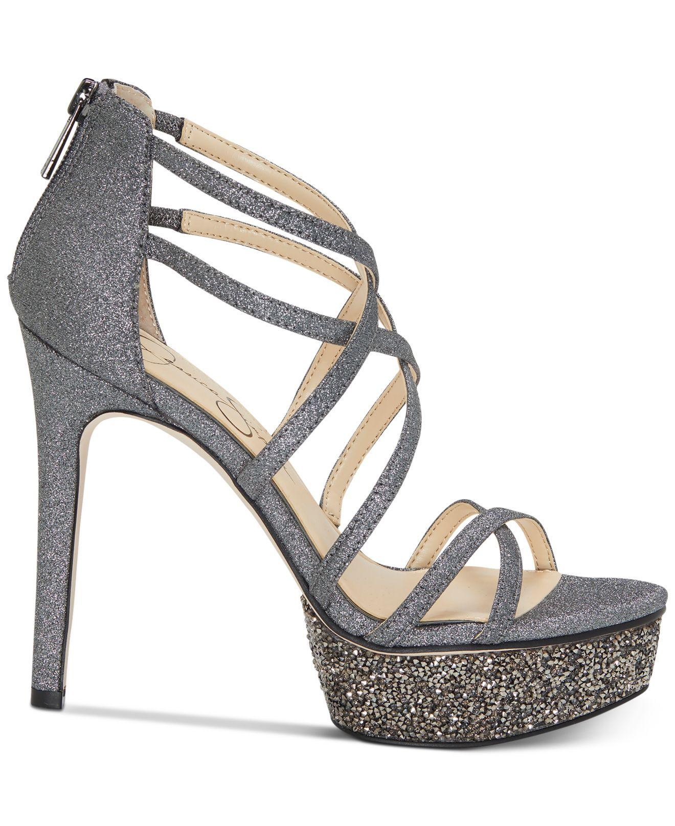 f0396f7a60d Lyst - Jessica Simpson Araya Dress Sandals