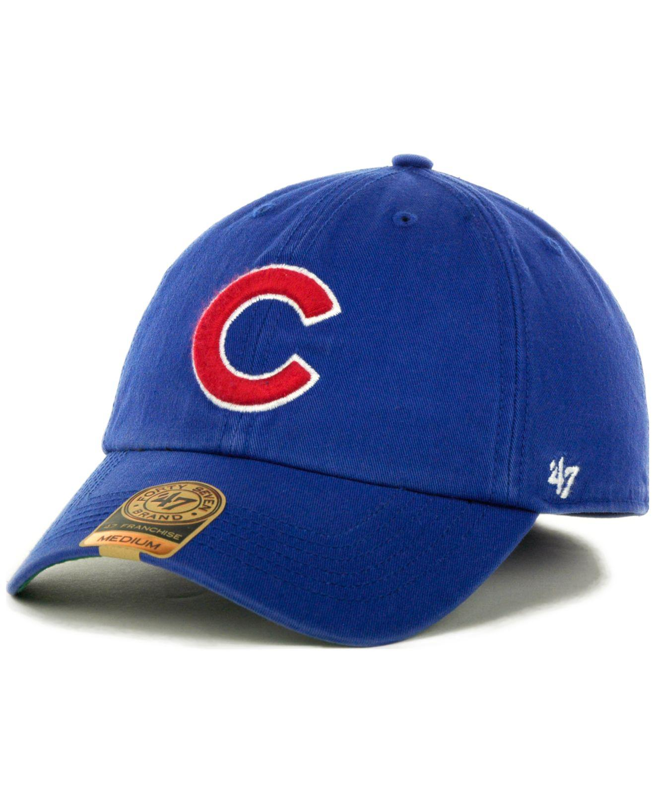 0543bae453e Lyst - 47 Brand Chicago Cubs Franchise Cap in Green for Men