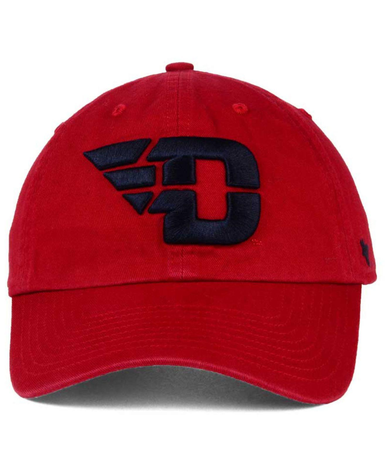 premium selection ce1de 2baf8 ... discount code for new zealand lyst 47 brand dayton flyers ncaa clean up  cap in red