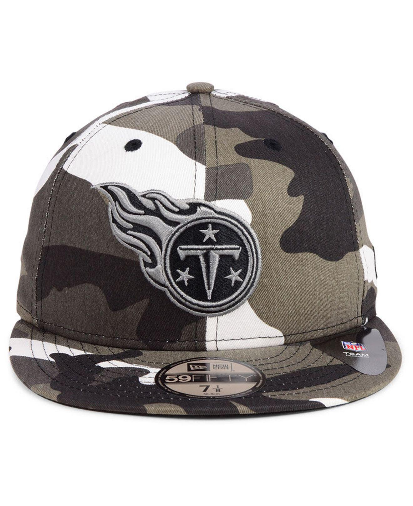 sports shoes 6637b e8ae9 Lyst - KTZ Tennessee Titans Urban Prism Pack 59fifty-fitted Cap for Men