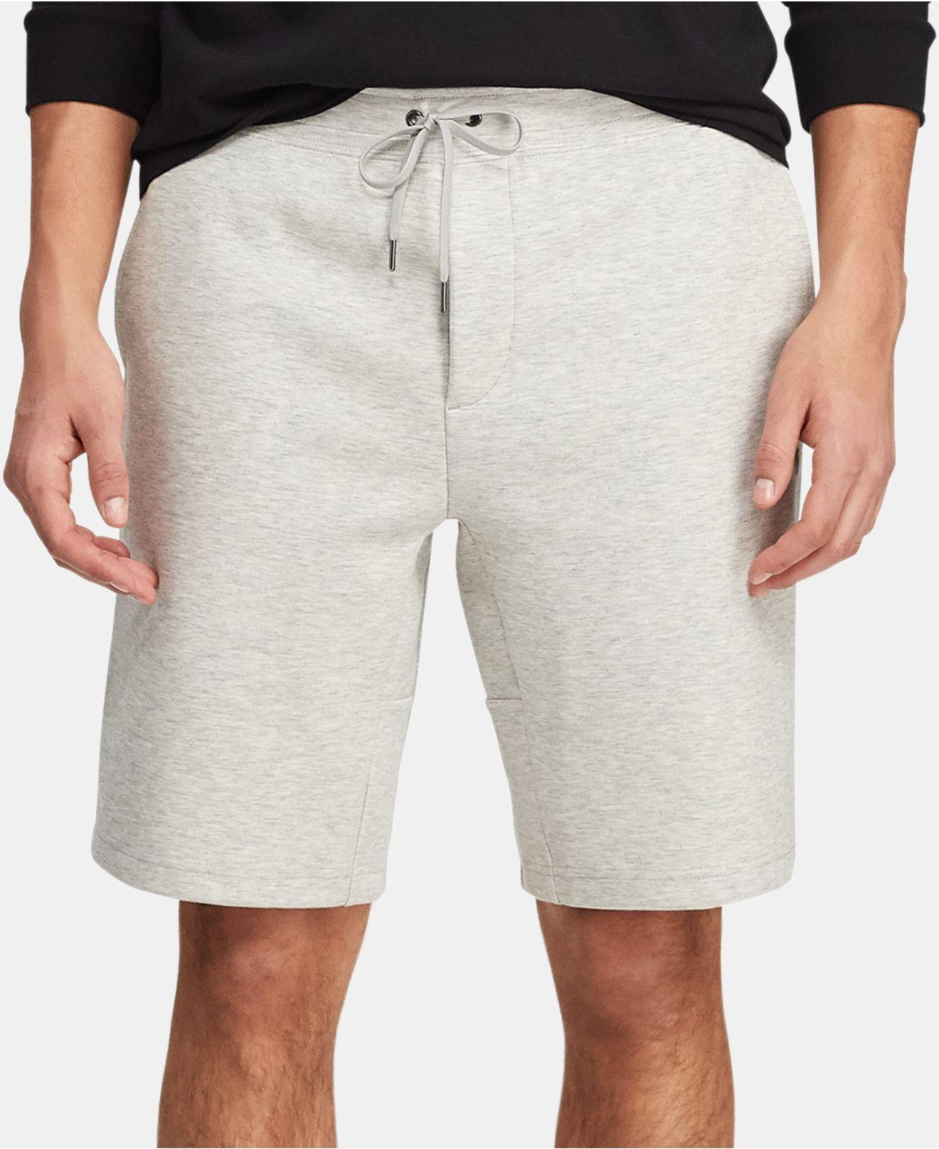 bac5f3cb8 Lyst - Polo Ralph Lauren Double-knit Active Shorts for Men