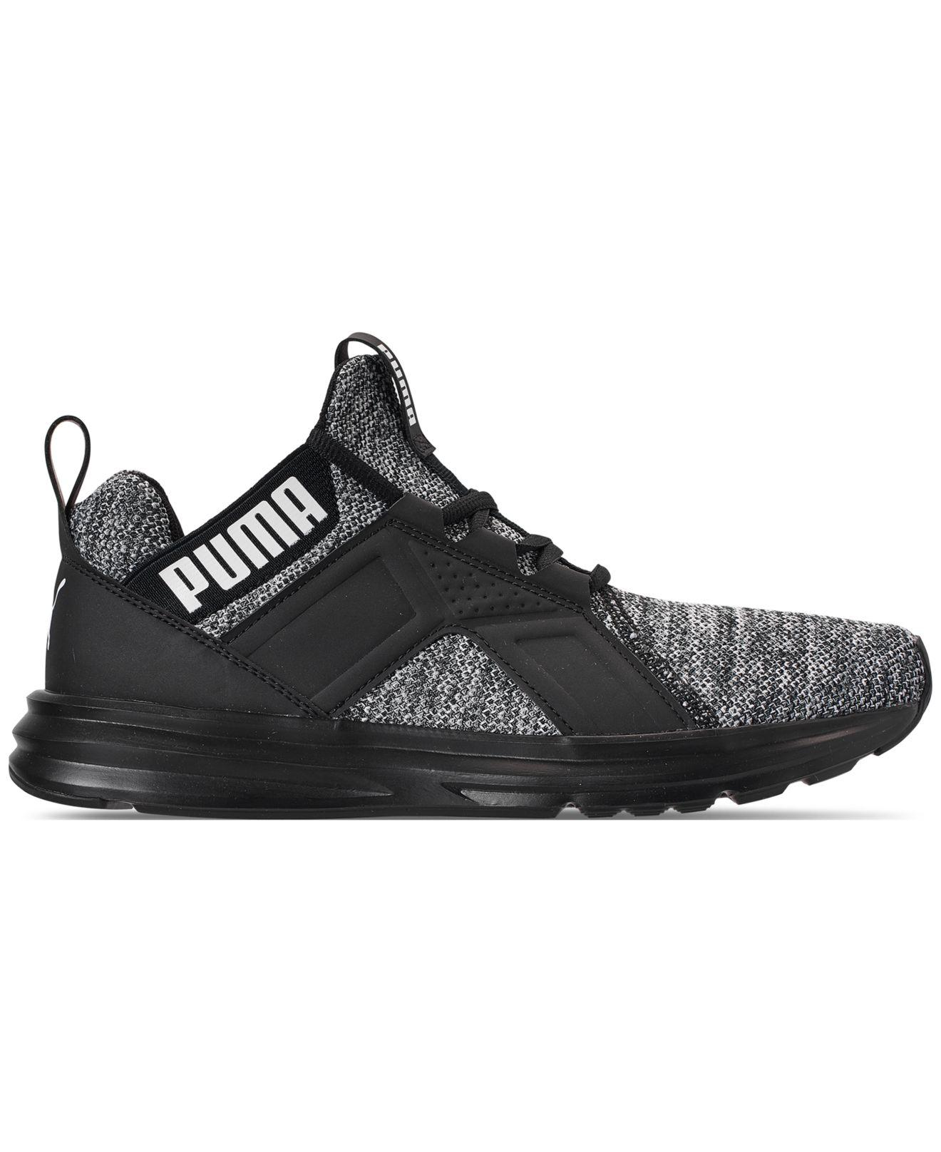 55abbf6c5605 Lyst - PUMA Enzo Knit Nm Casual Sneakers From Finish Line in Black for Men