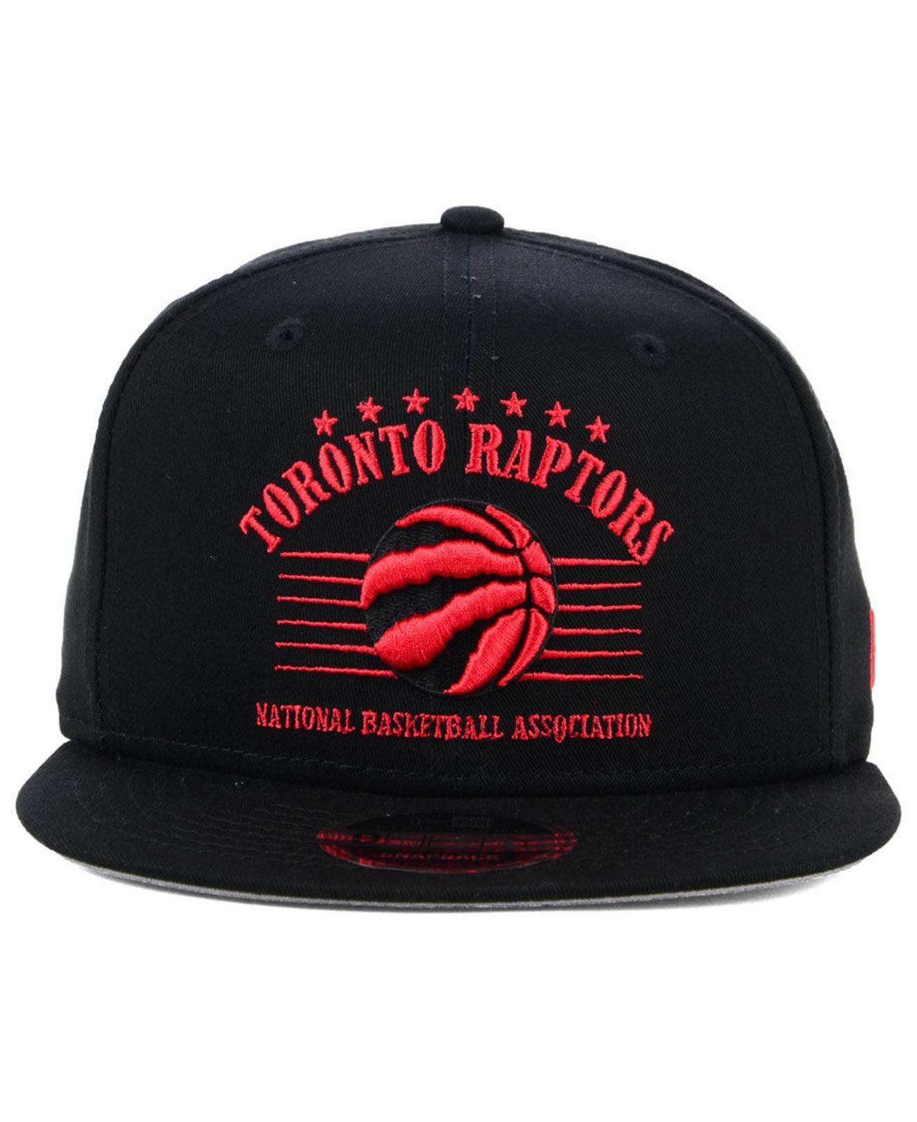 more photos 237d9 3862e ... real lyst ktz toronto raptors retro arch 9fifty snapback cap in black  for men e4d34 a8a16