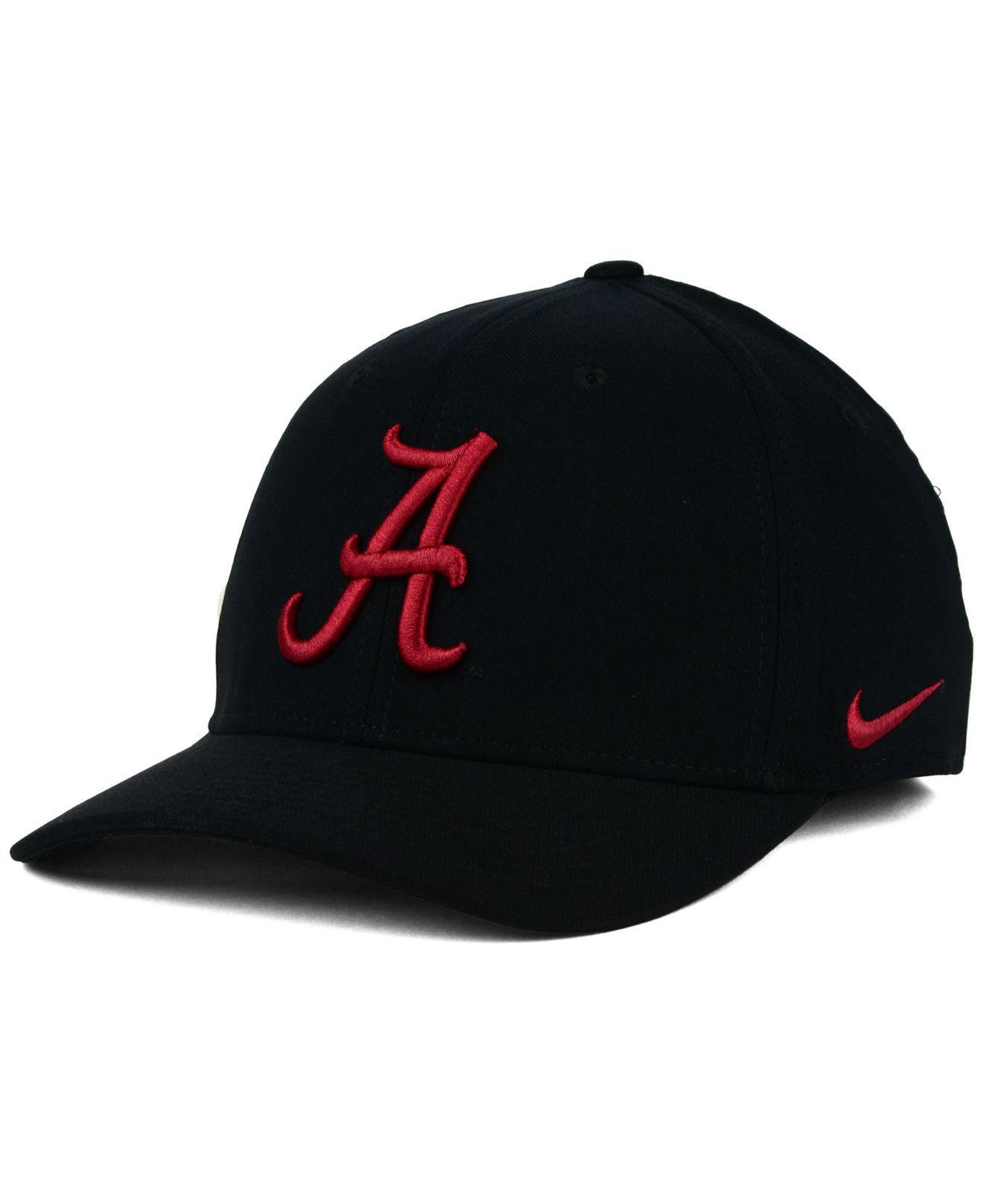 8f8e1d0aee3 Lyst - Nike Alabama Crimson Tide Classic Swoosh Cap in Black for Men