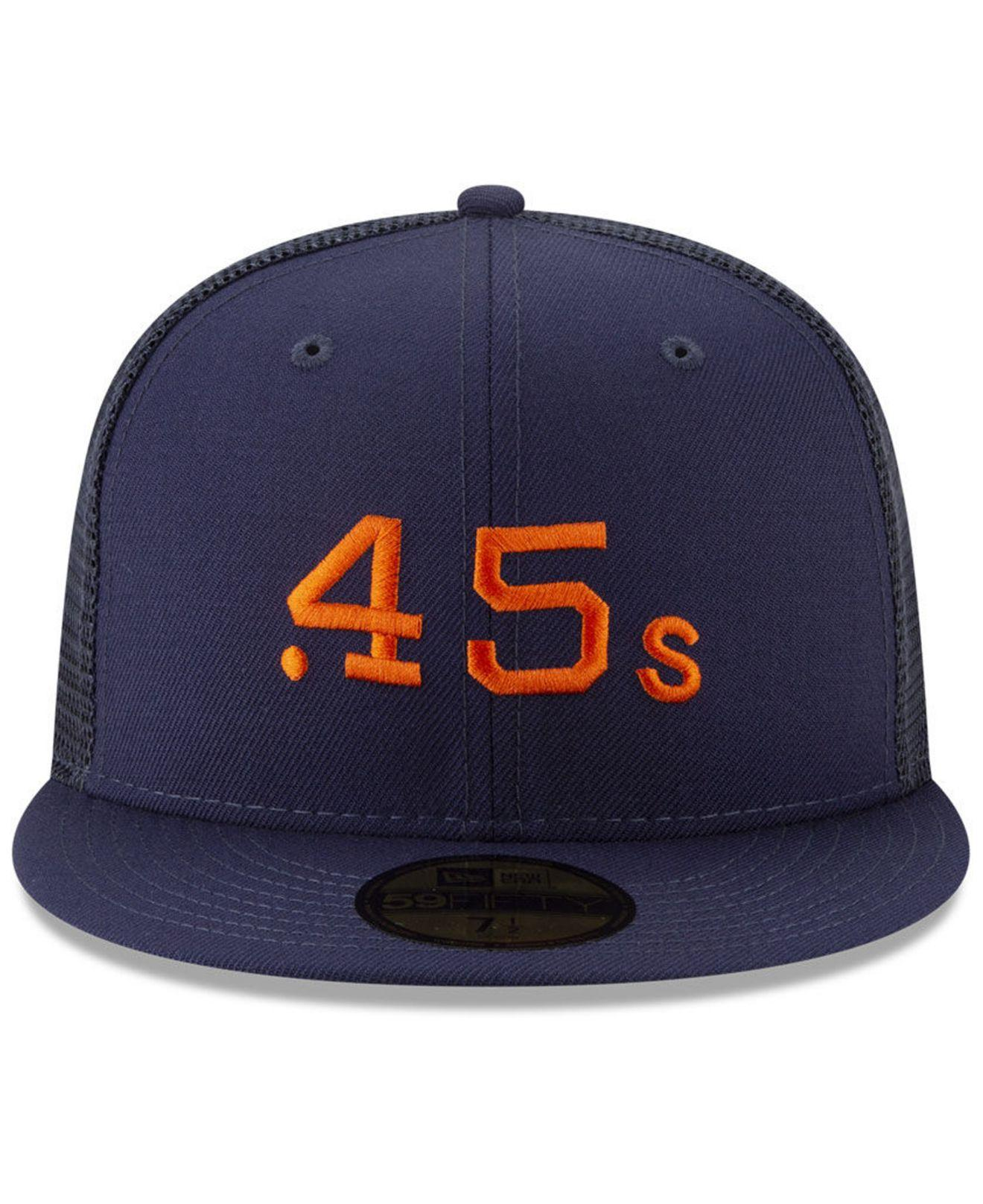 on sale 7de4c bd3b7 Lyst - KTZ Houston Colt 45s Coop All Day 59fifty-fitted Cap in Blue for Men