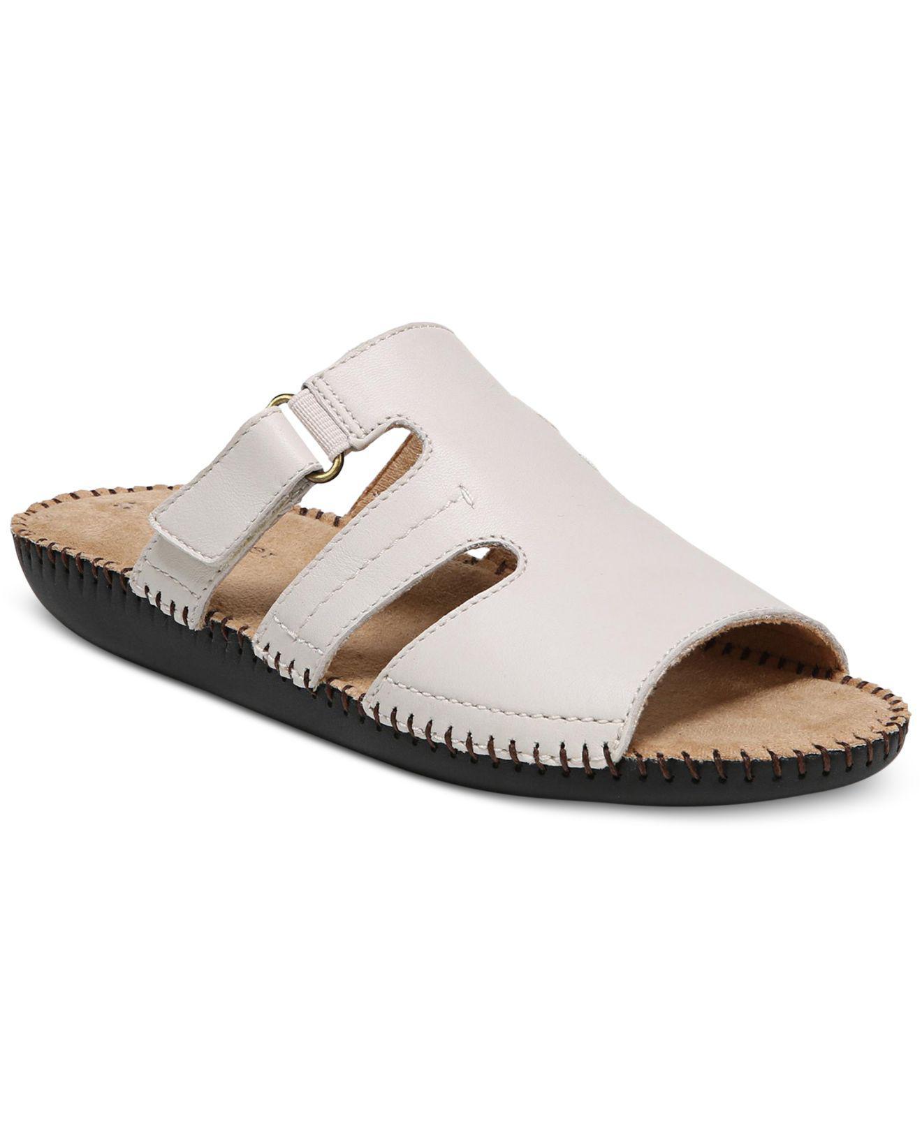 645cfeea280 Lyst - Naturalizer Serene Flat Sandals in Natural