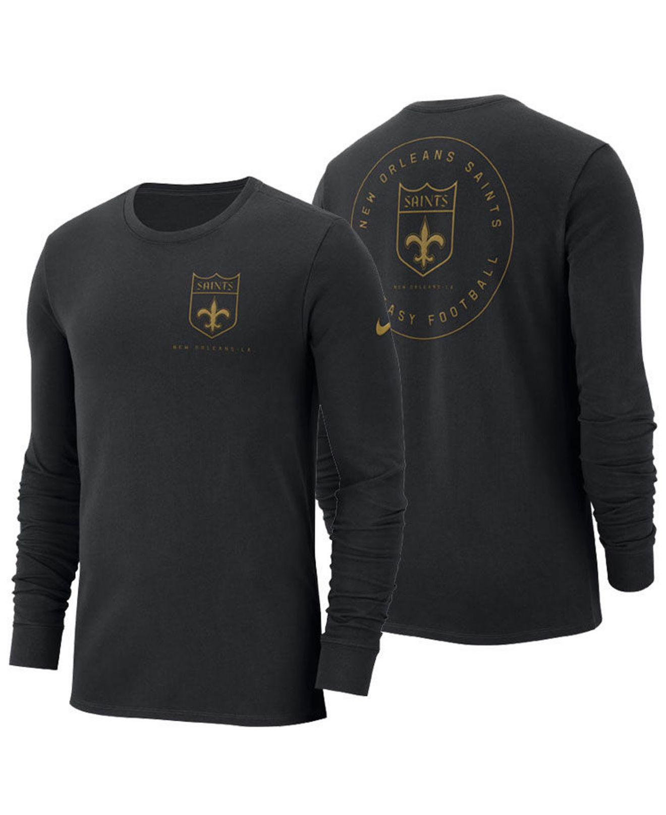 Lyst - Nike New Orleans Saints Heavyweight Seal Long Sleeve T-shirt ... 2bc2a210d