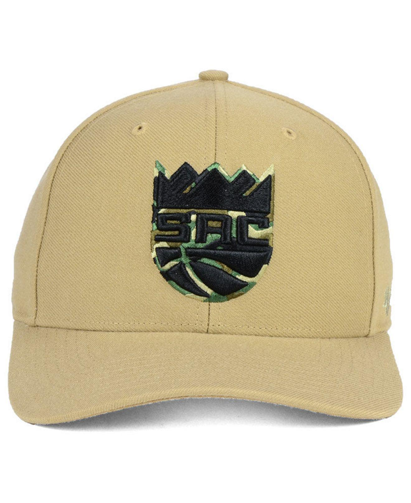 competitive price 82f75 d2cca ... switzerland lyst 47 brand sacramento kings camfill mvp cap for men  f7588 00092