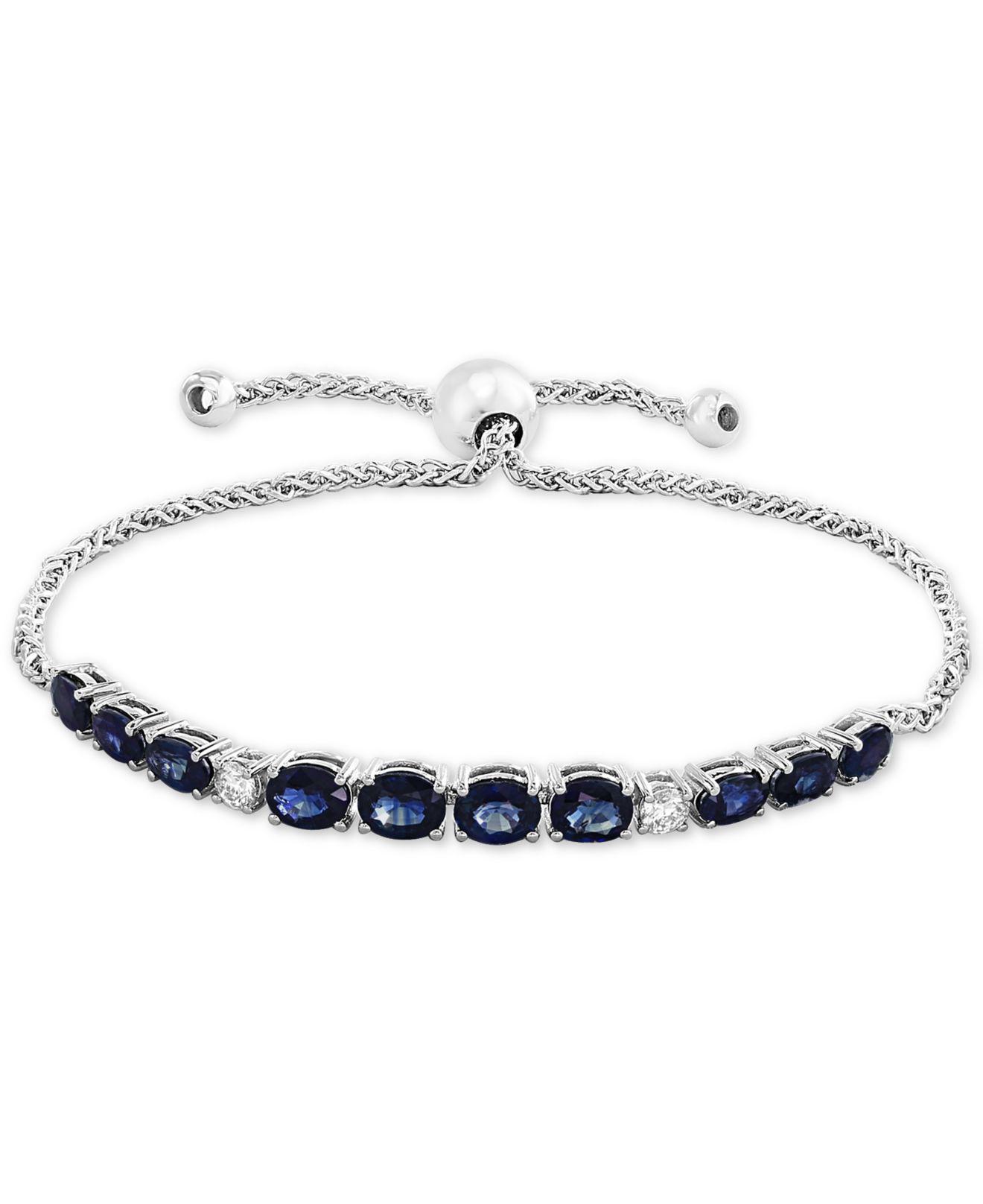 ab15b9192d5b4d Effy Collection Effy® Sapphire (3-5/8 Ct.t.w.) & Diamond (1/5 Ct ...
