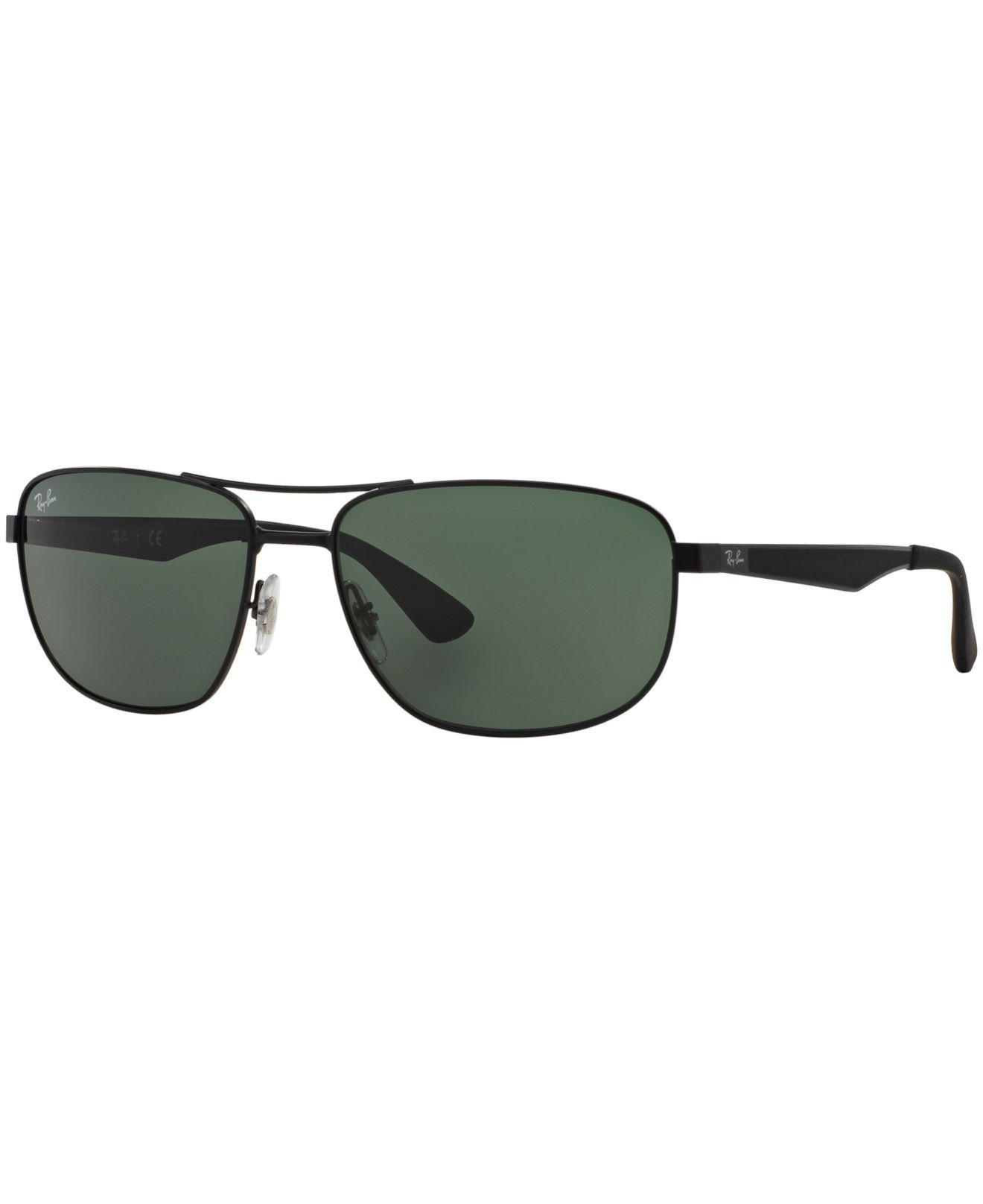 e045ad15bd Ray-Ban. Men s Black Sunglasses ...