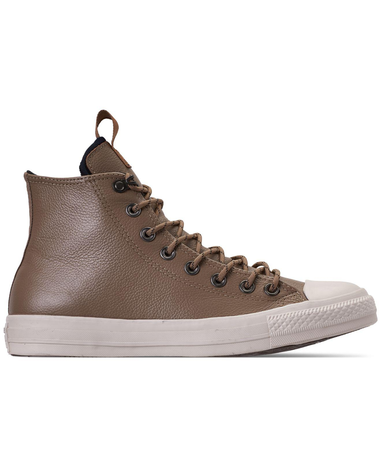 6f56212cfc76 Lyst - Converse Jack Purcell Desert Storm Leather Hi Casual Sneakers ...