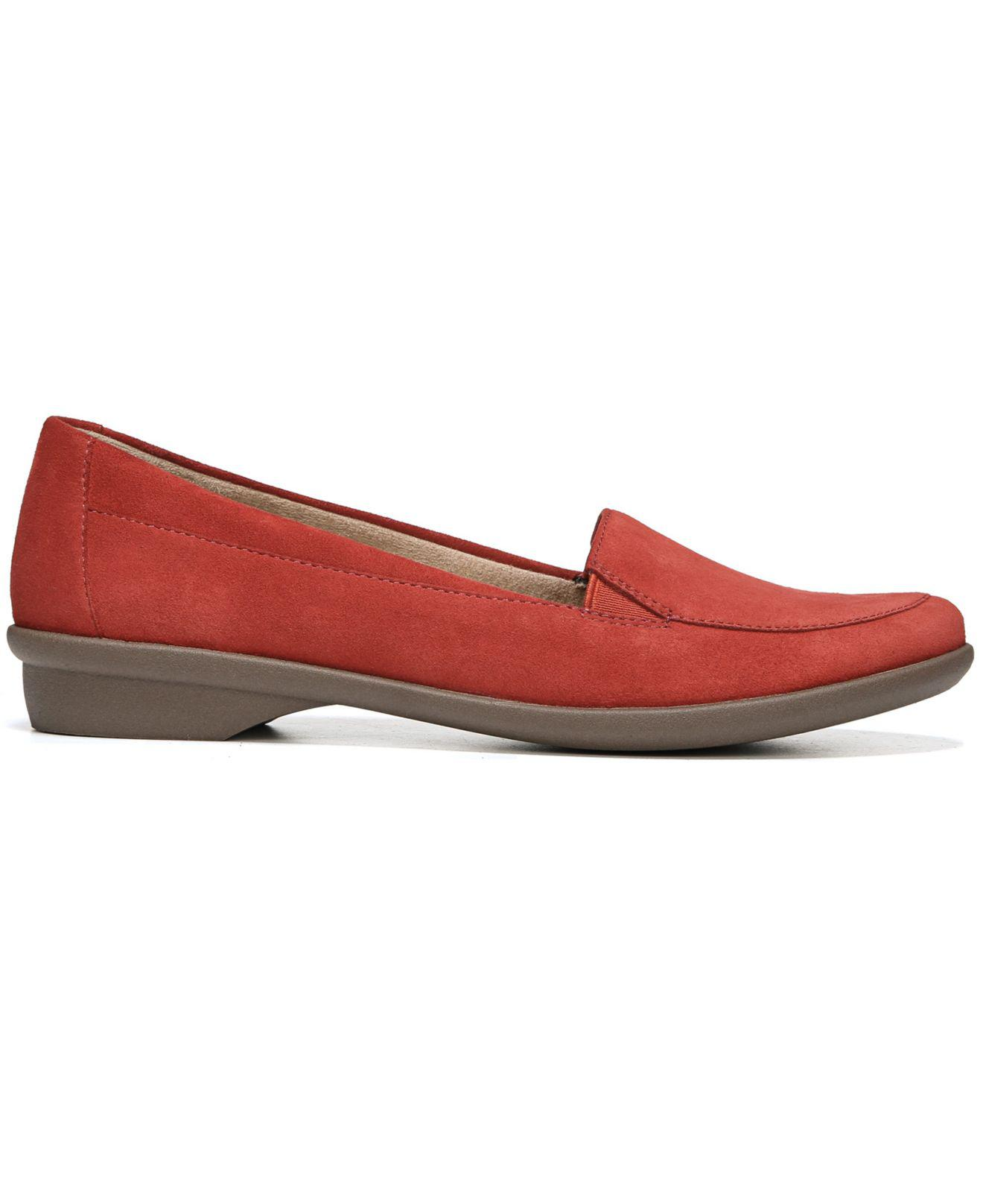 1588bc56dba Lyst - Naturalizer Panache Loafers in Red