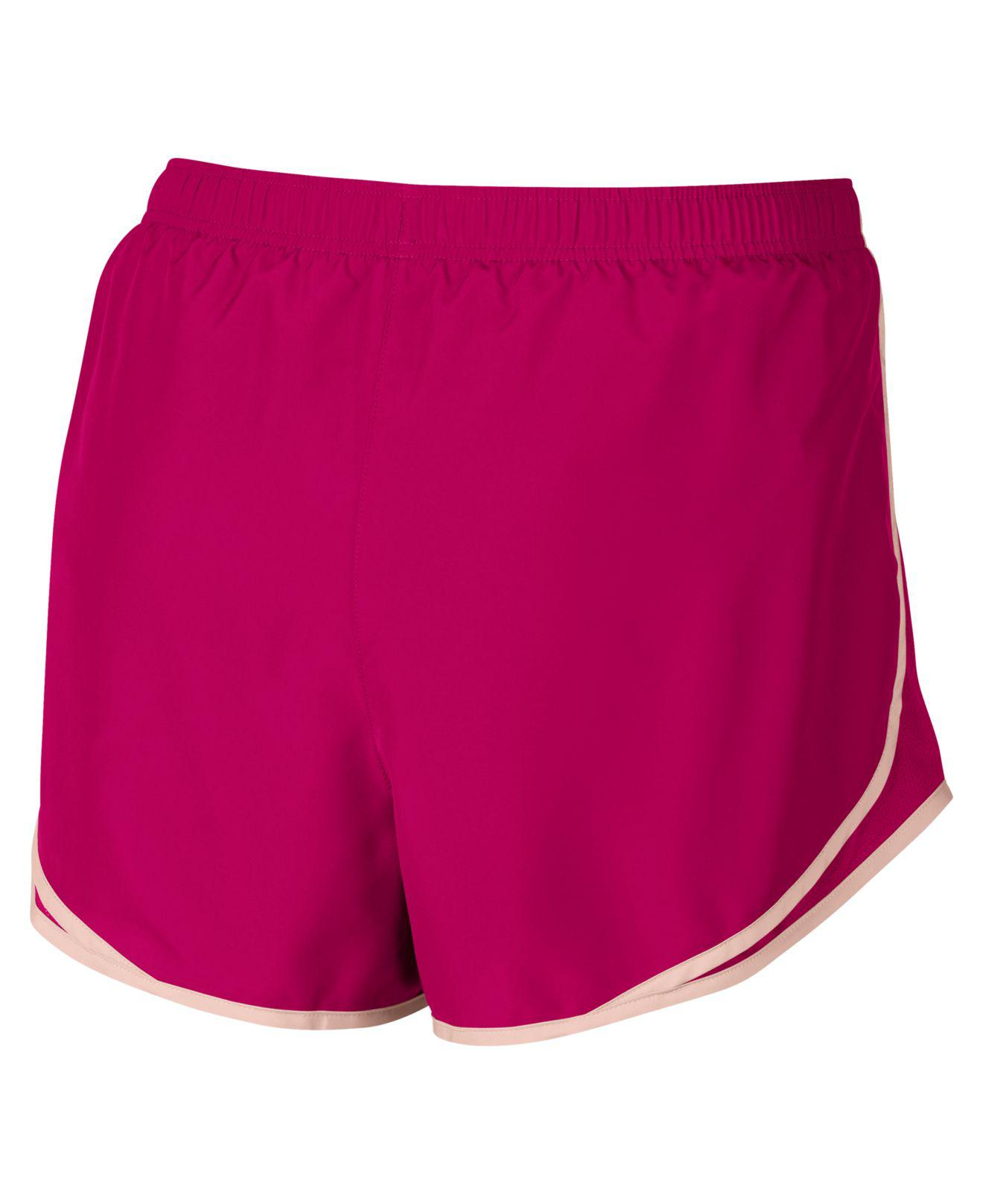64937ce3c41 Lyst - Nike Plus Size Dry 3   Tempo Running Shorts in Pink